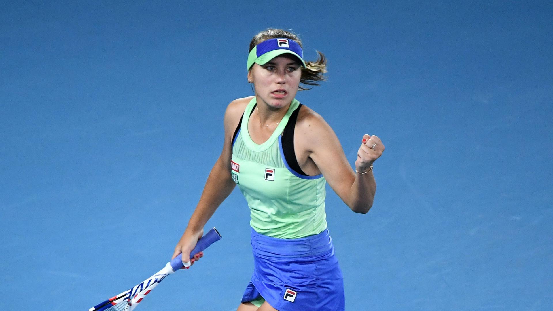 BREAKING NEWS: Sofia Kenin wins Australian Open final against Garbine Muguruza