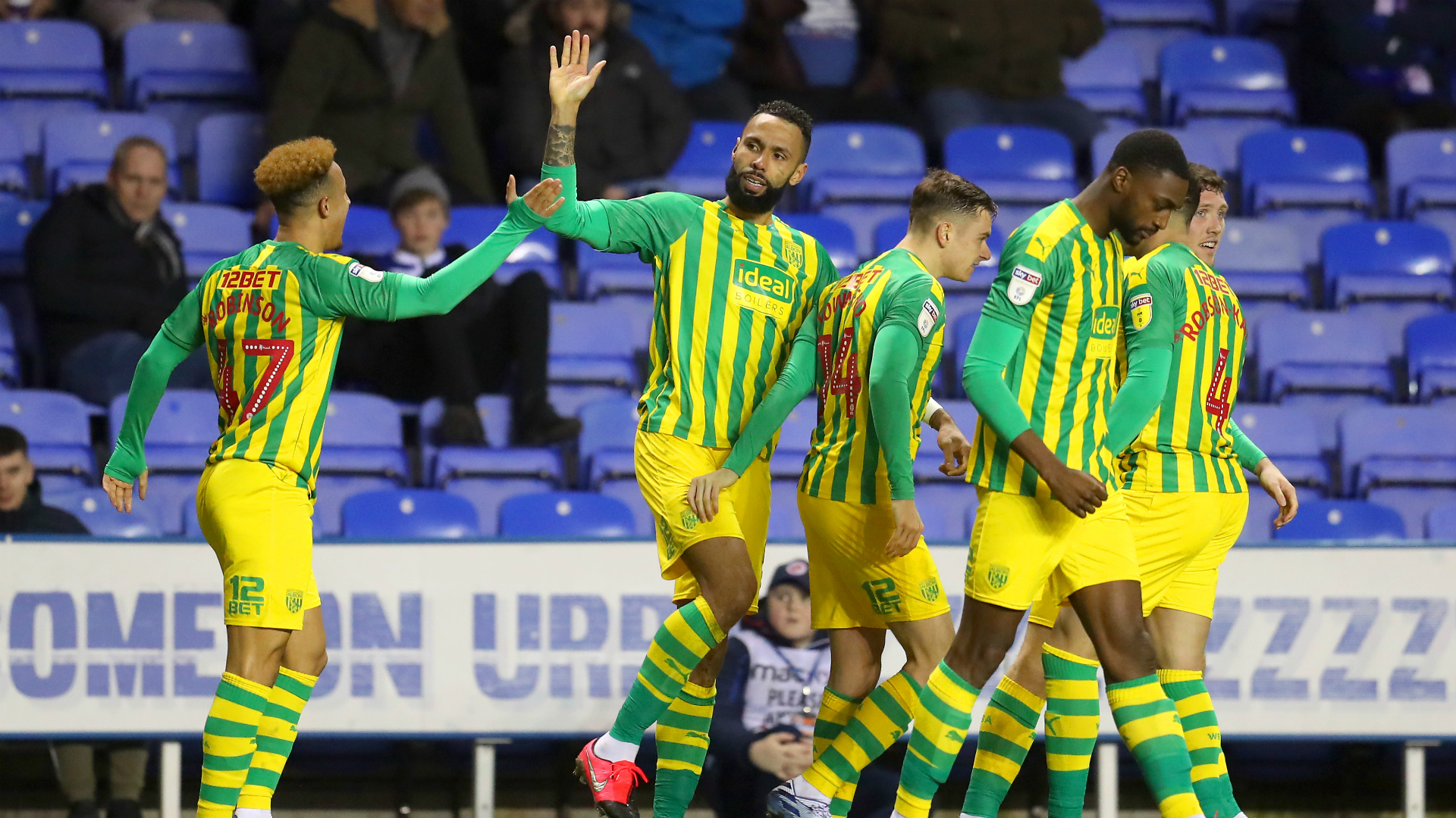 Championship: Baggies move six clear as Fulham miss chance to go second