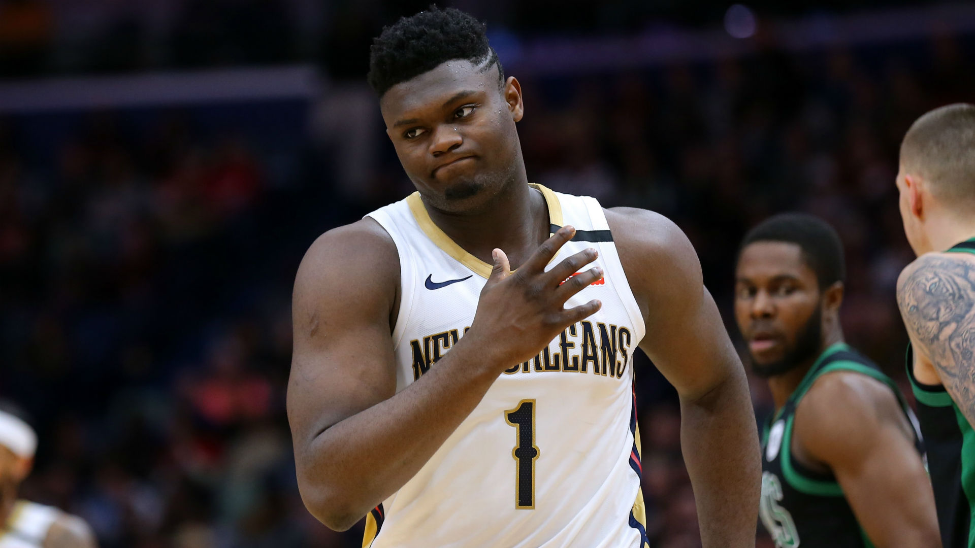Zion Williamson wants to represent USA at future Olympics