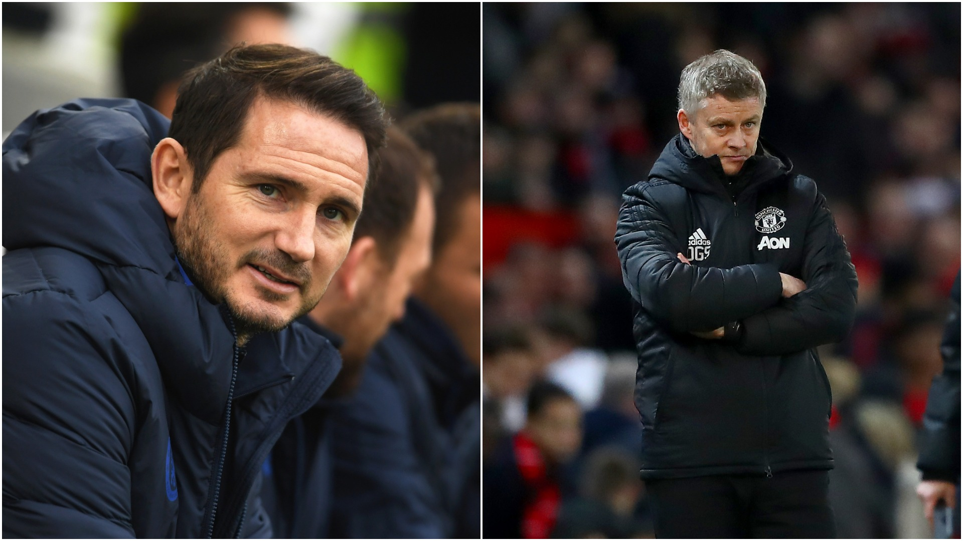 Chelsea v Man Utd: Why does Lampard get an easier ride than Solskjaer?