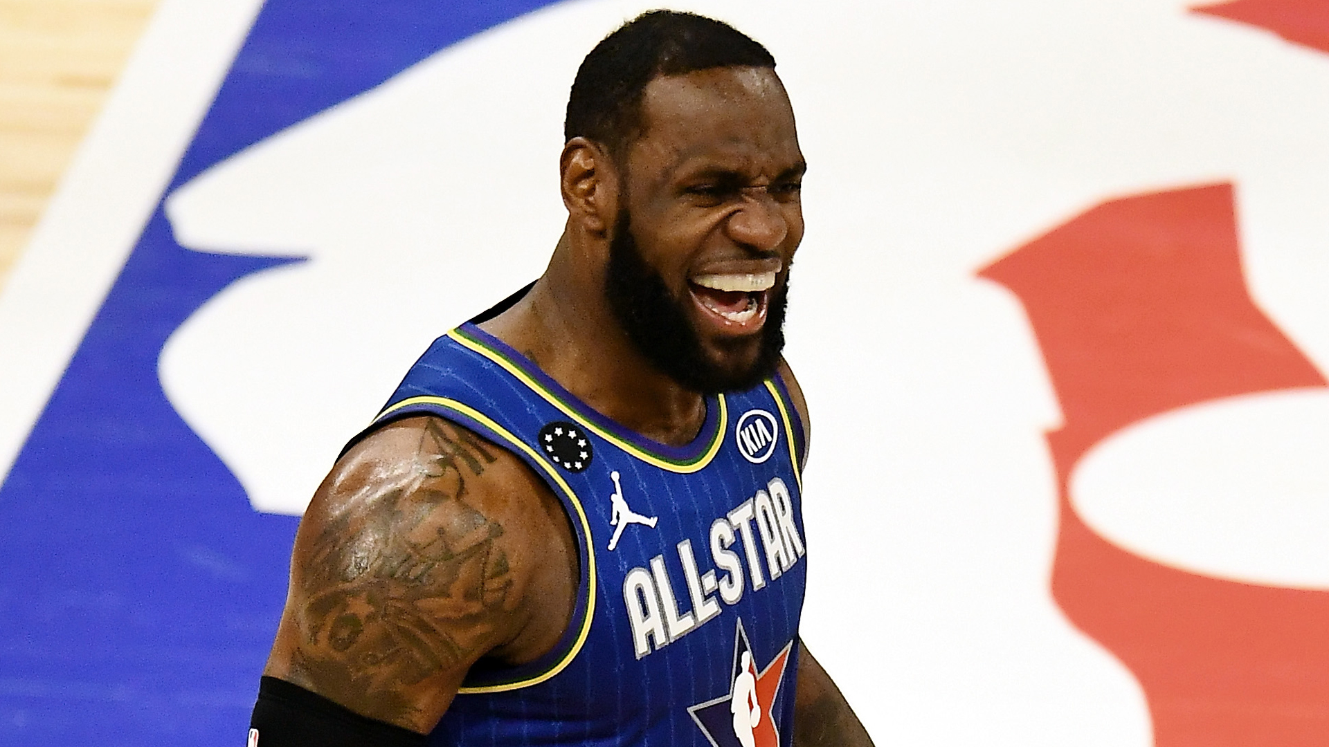 LeBron felt Kobe Bryant's presence during All-Star Game