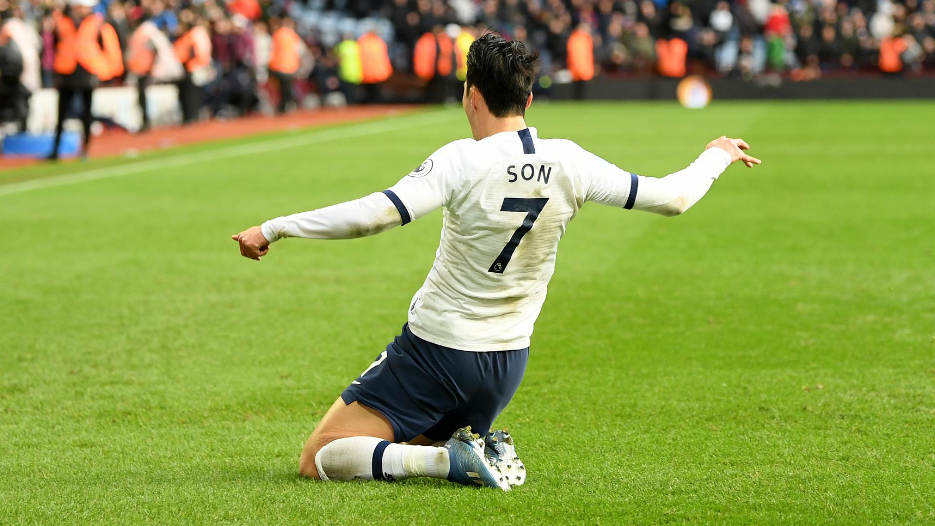 Aston Villa 2-3 Tottenham: Son pounces on Engels error to settle thriller