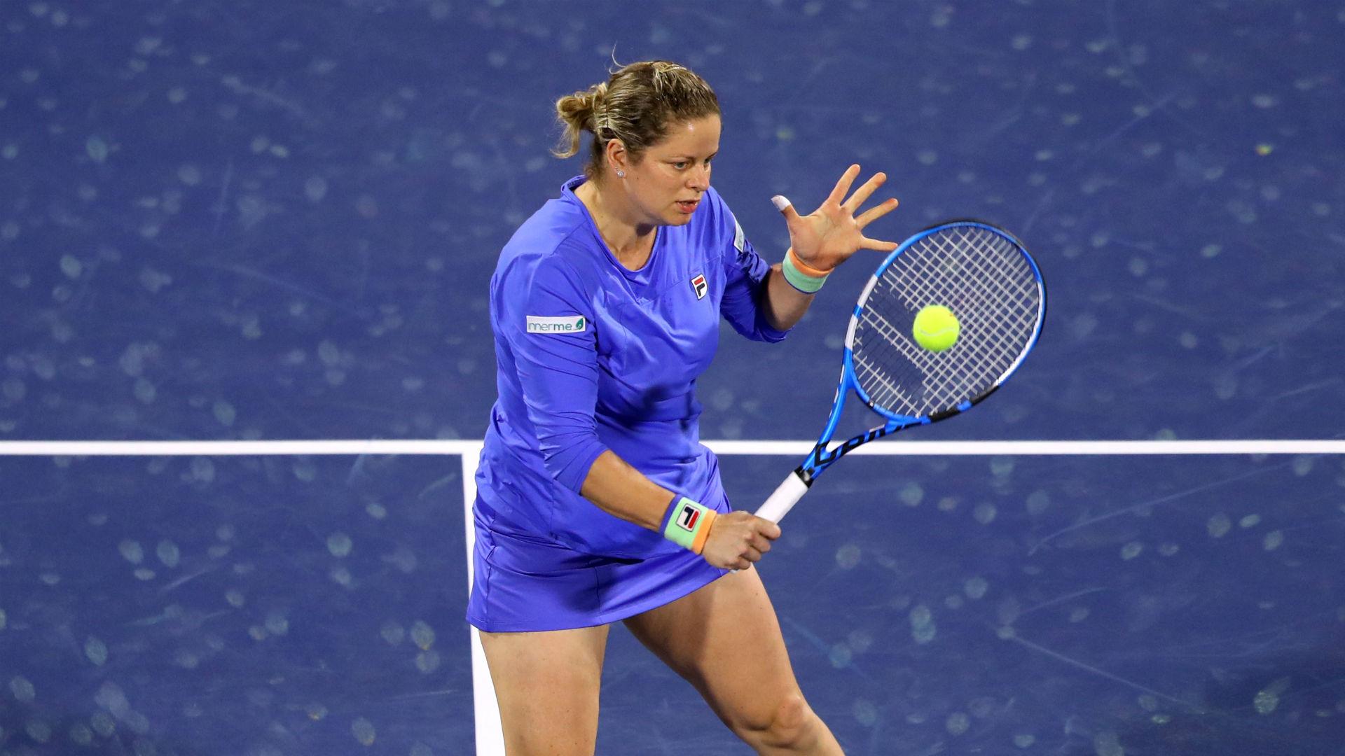Kim Clijsters suffers defeat to Muguruza on encouraging WTA Tour comeback