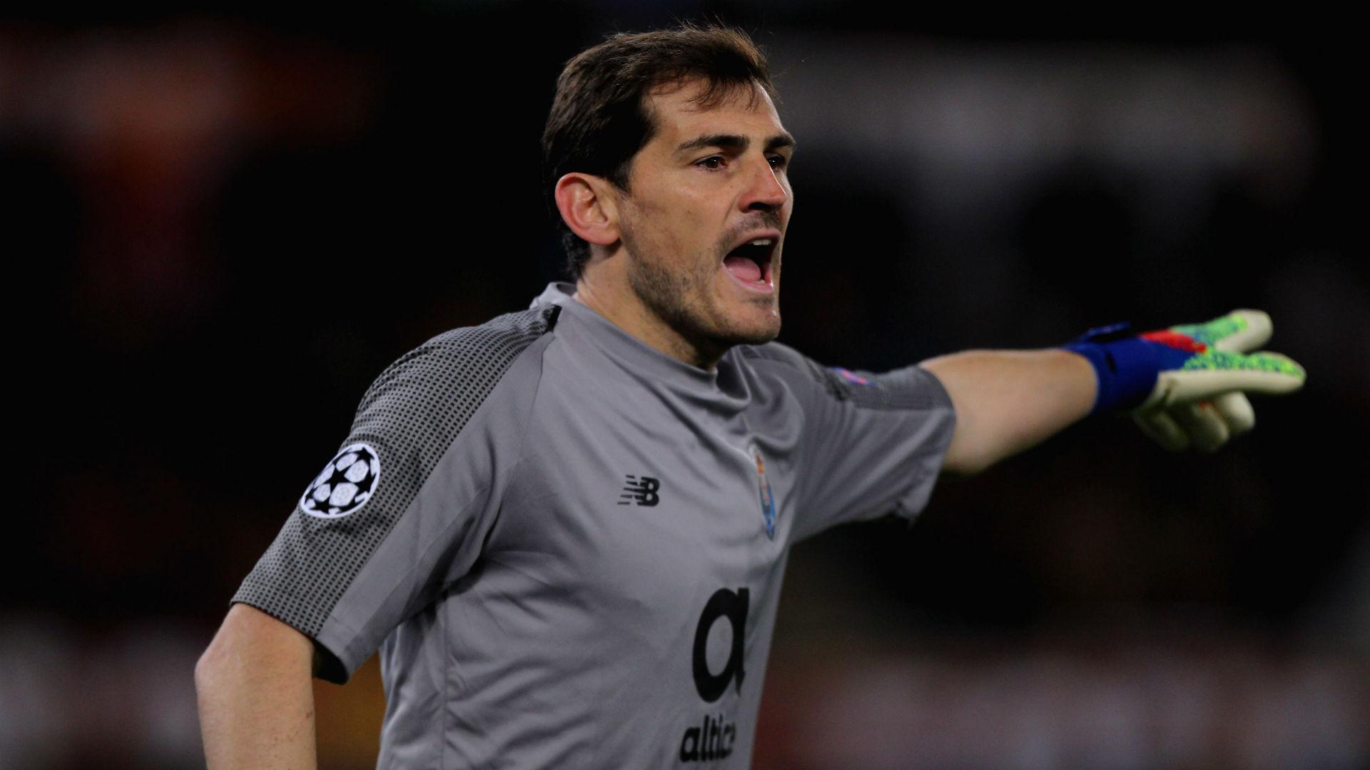Casillas has retired after RFEF leadership bid, says Porto president