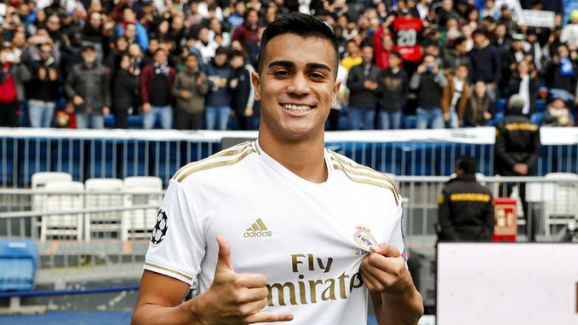 Emotional Reinier breaks down in Real Madrid presentation