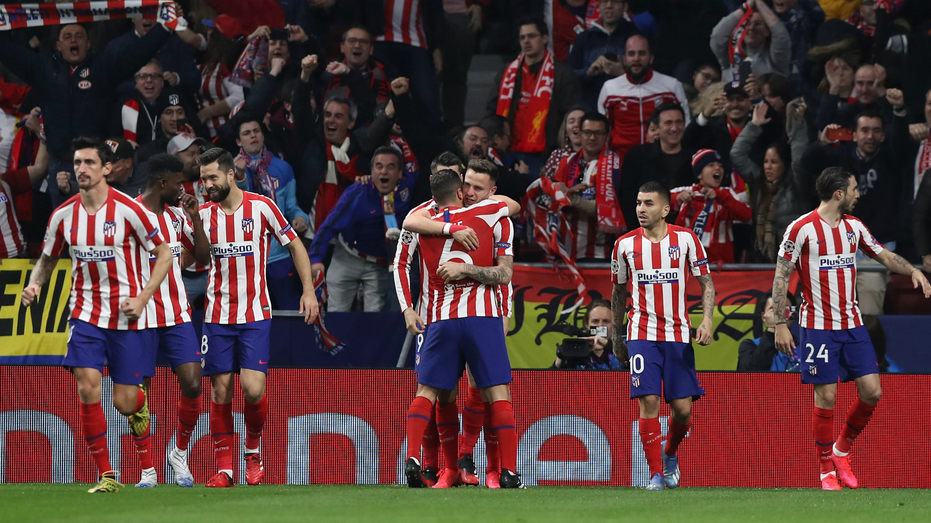 Atletico Madrid 1-0 Liverpool: Early Saul strike gives Simeone's men first-leg lead