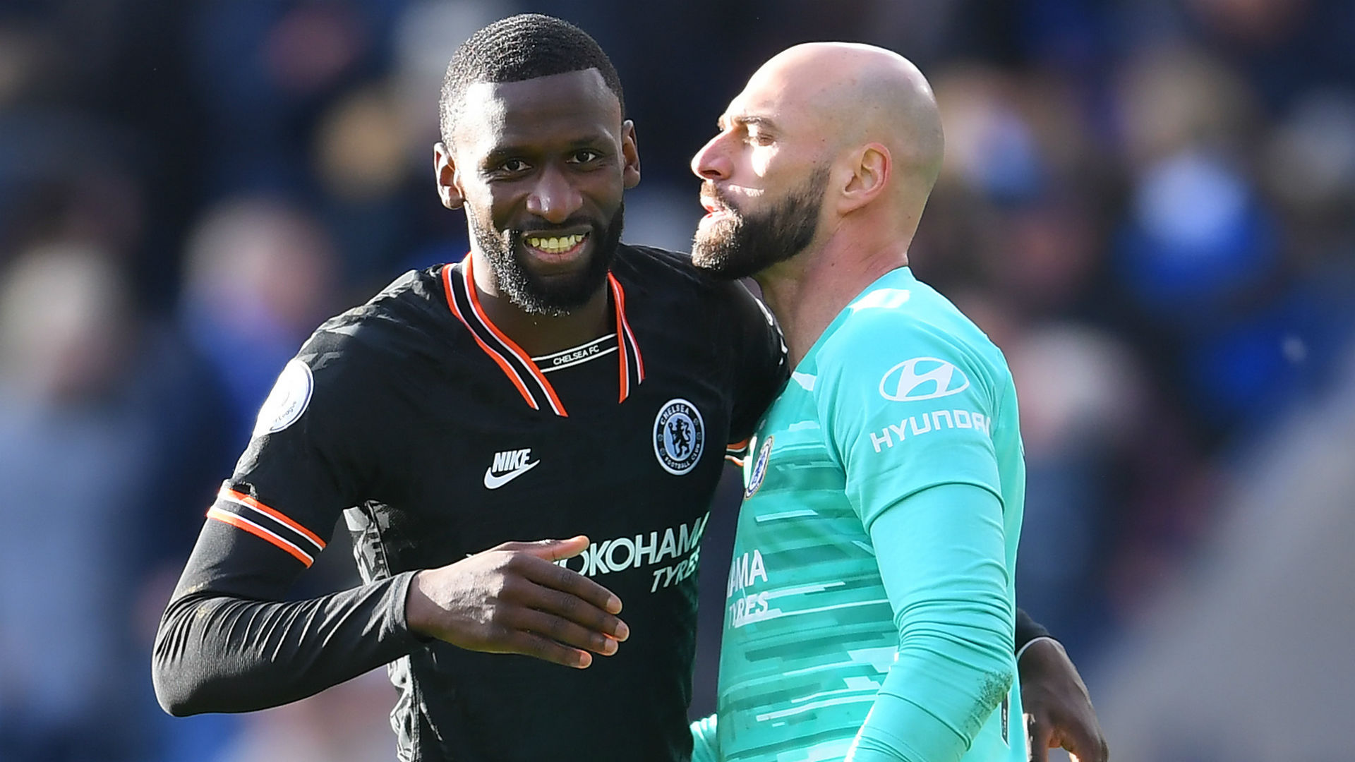 Lampard pleased with Caballero as Rudiger stands tall for Chelsea