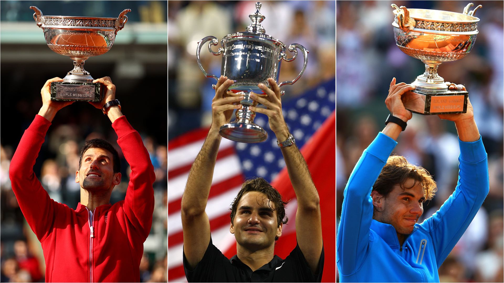 Australian Open 2020: Most dominant grand-slam periods of 'Big Three' as Djokovic eyes fifth title in seven