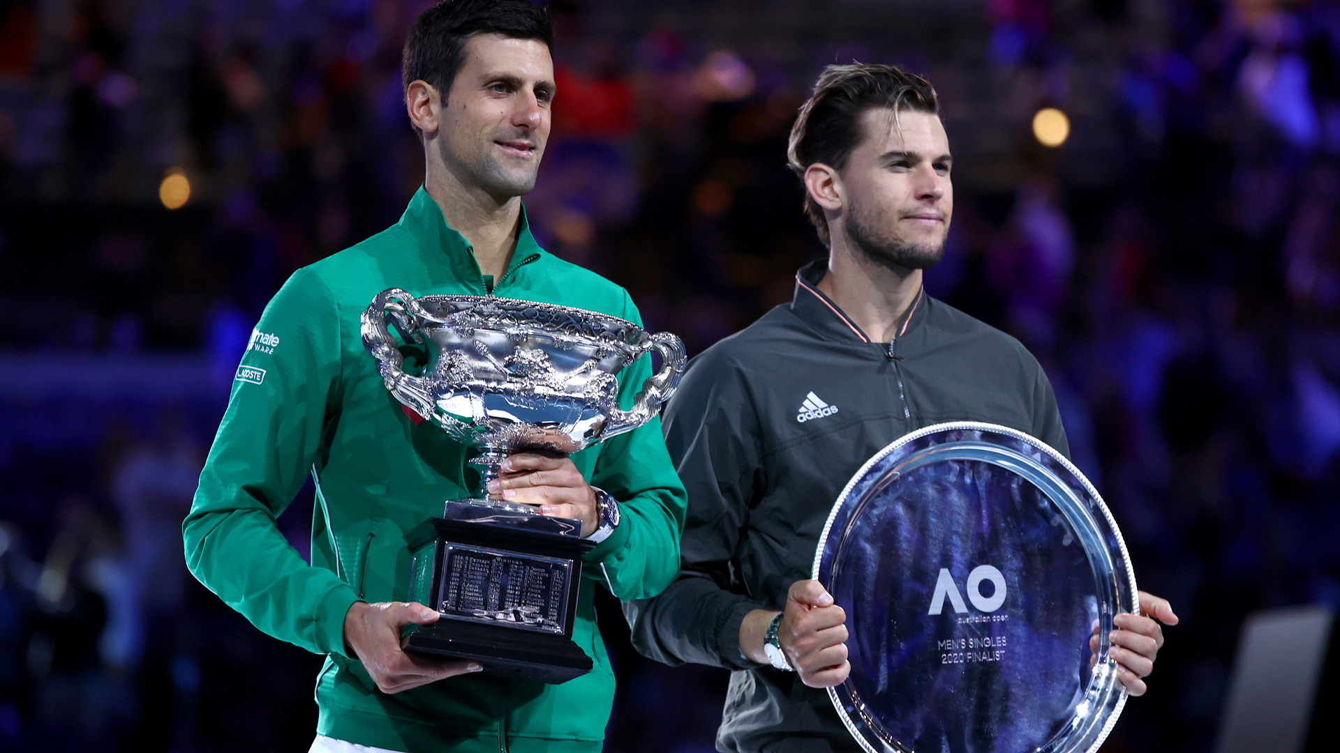 Australian Open 2020: Empty Thiem has no regrets after losing final to Djokovic