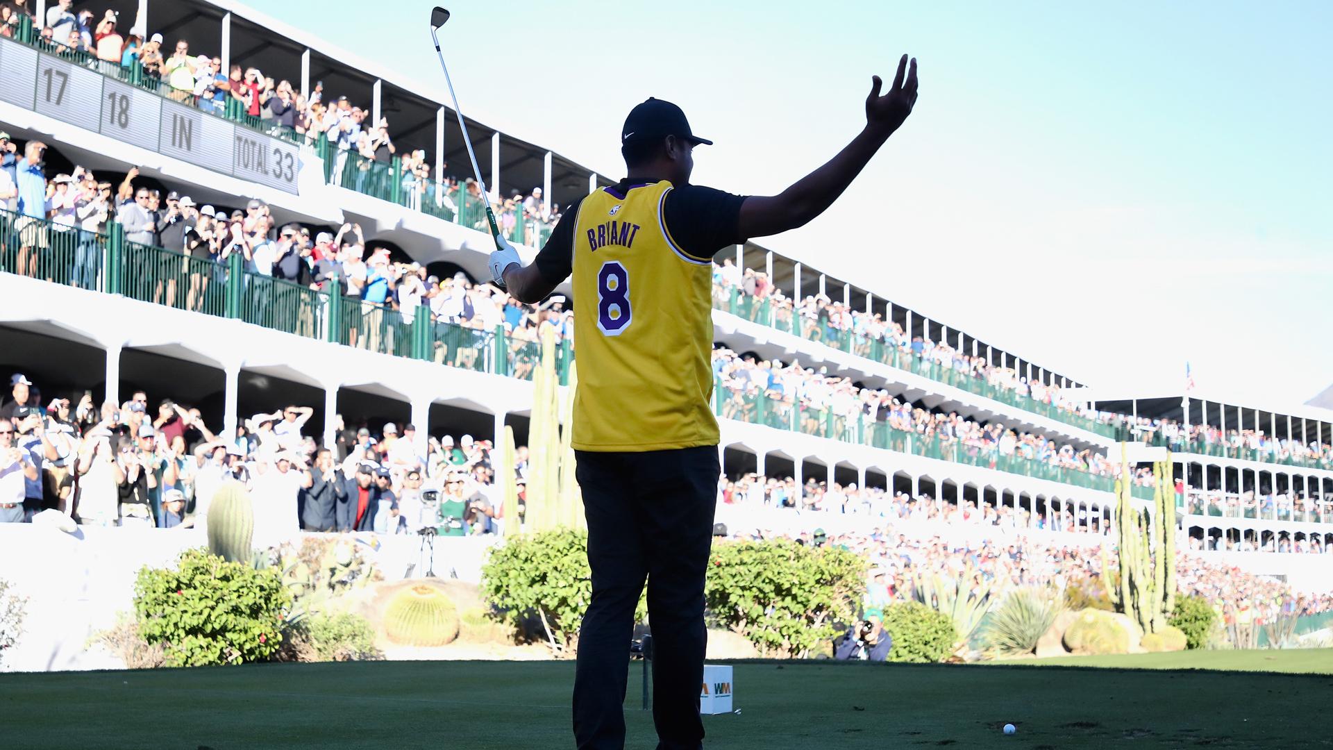 PGA Tour to honour Kobe Bryant at 16th hole at Phoenix Open