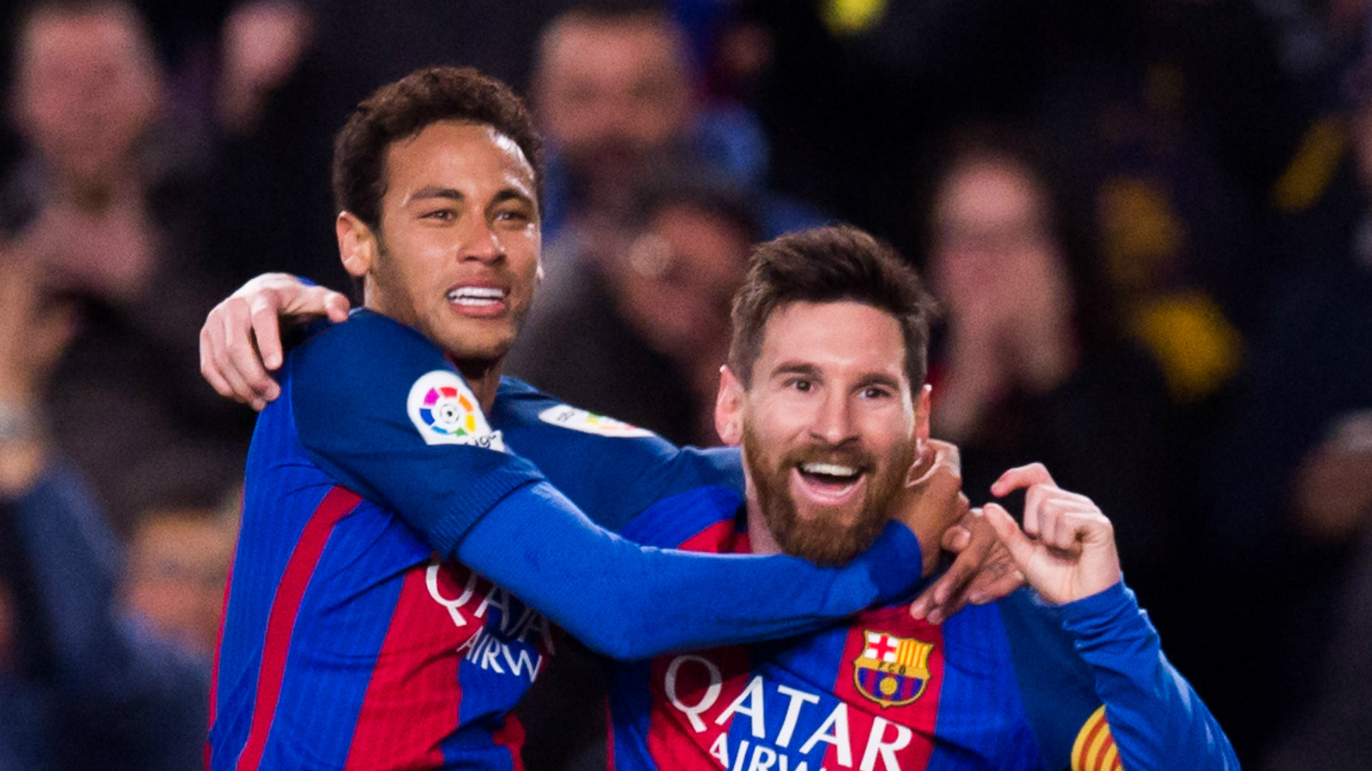 Messi says Neymar wants Barca return, hails 'spectacular' Martinez
