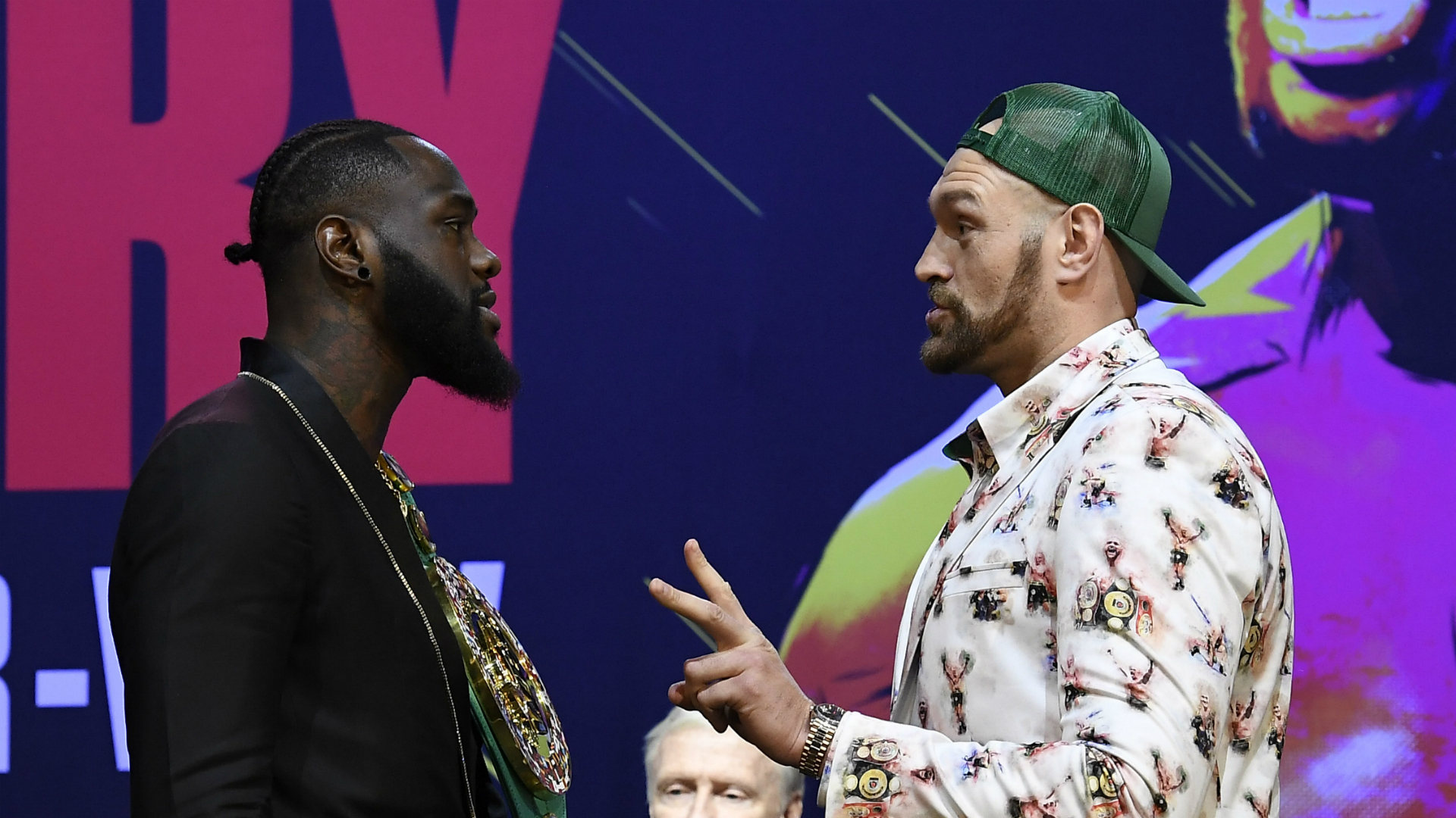 Wilder and Fury face-off cancelled after pre-fight flare-up