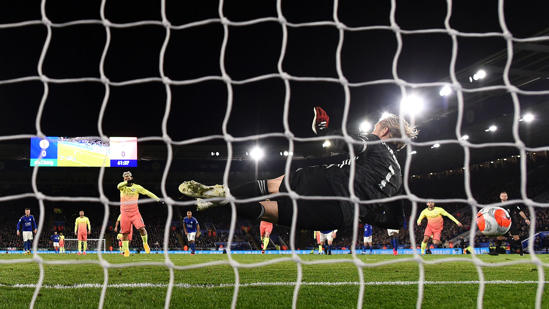 Time for Ederson? - Man City's penalty pain continues with Aguero miss at Leicester