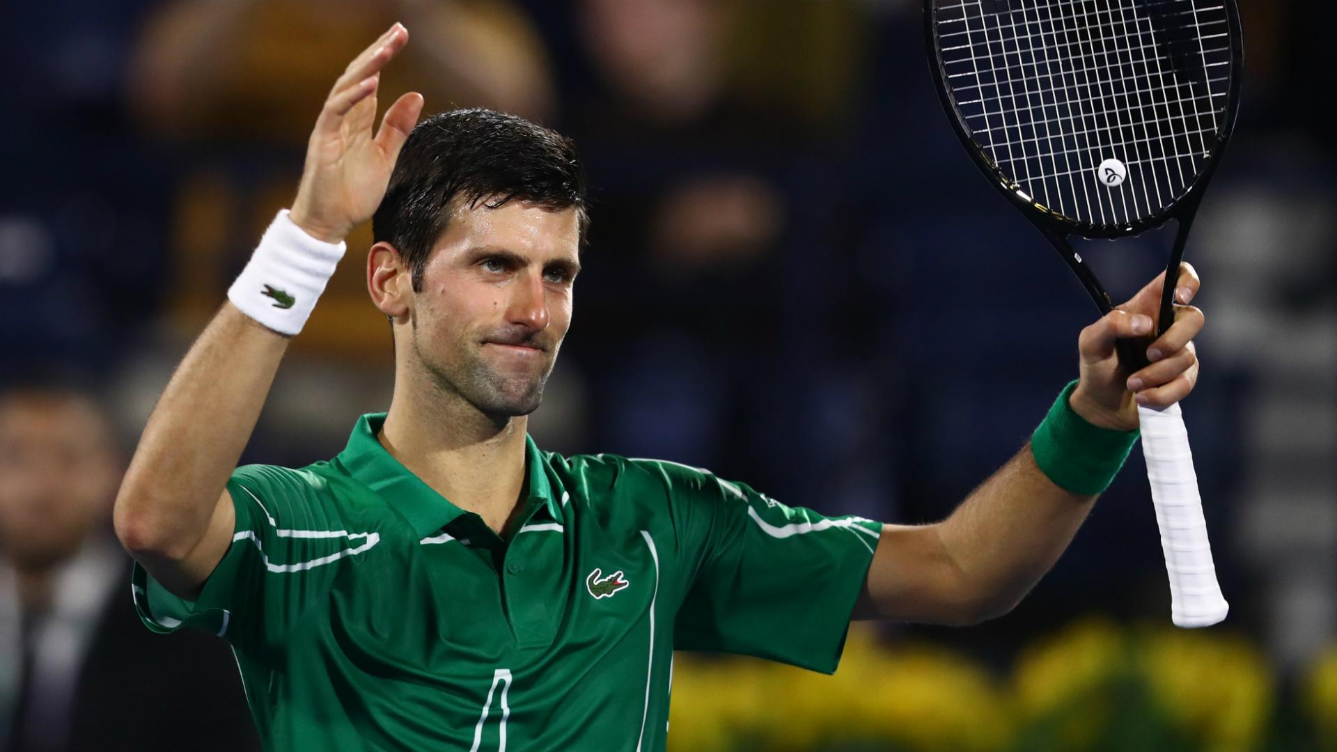 Novak Djokovic earns emphatic win in first match since Australian Open triumph