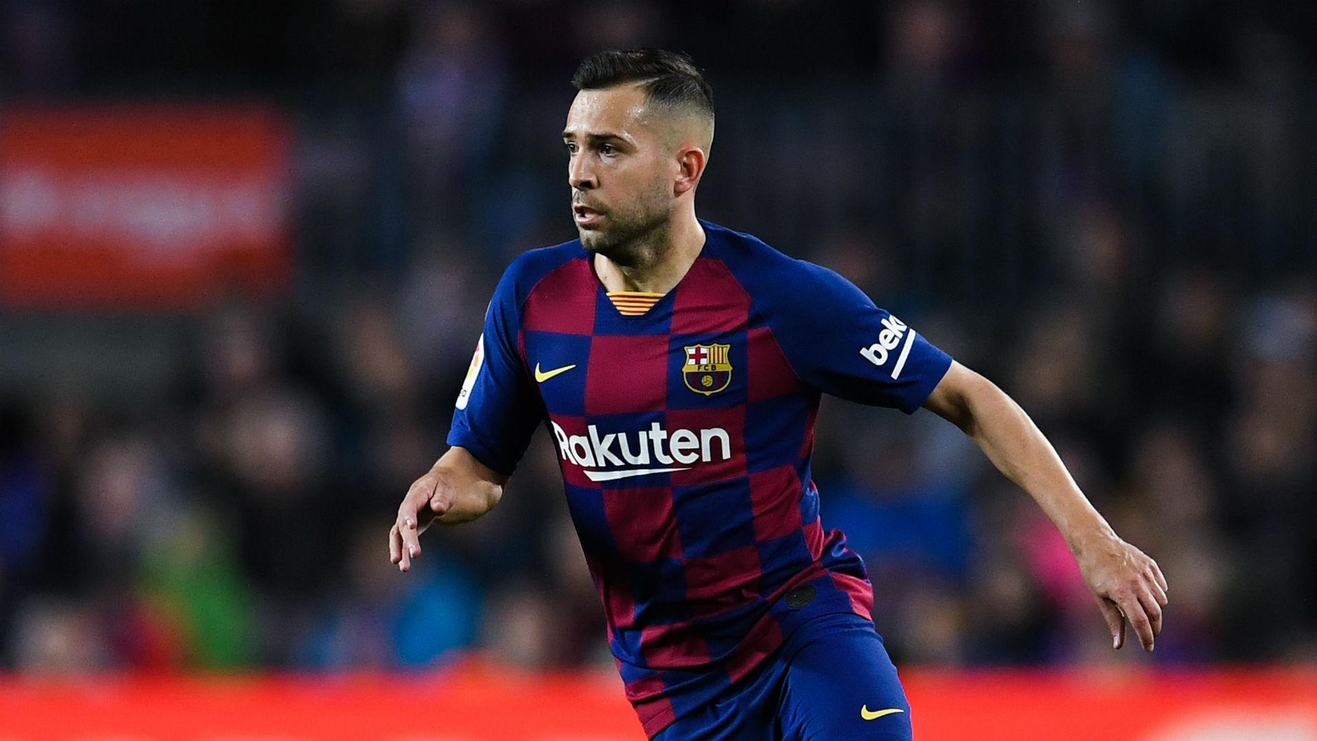 Jordi Alba back in Barcelona squad for Clasico