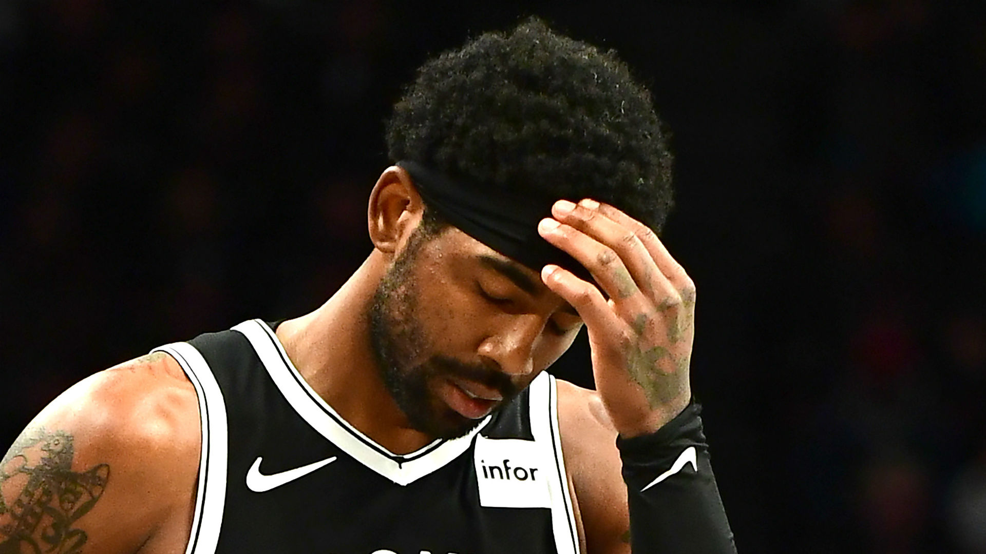Nets' Irving to be re-evaluated in a week after knee sprain