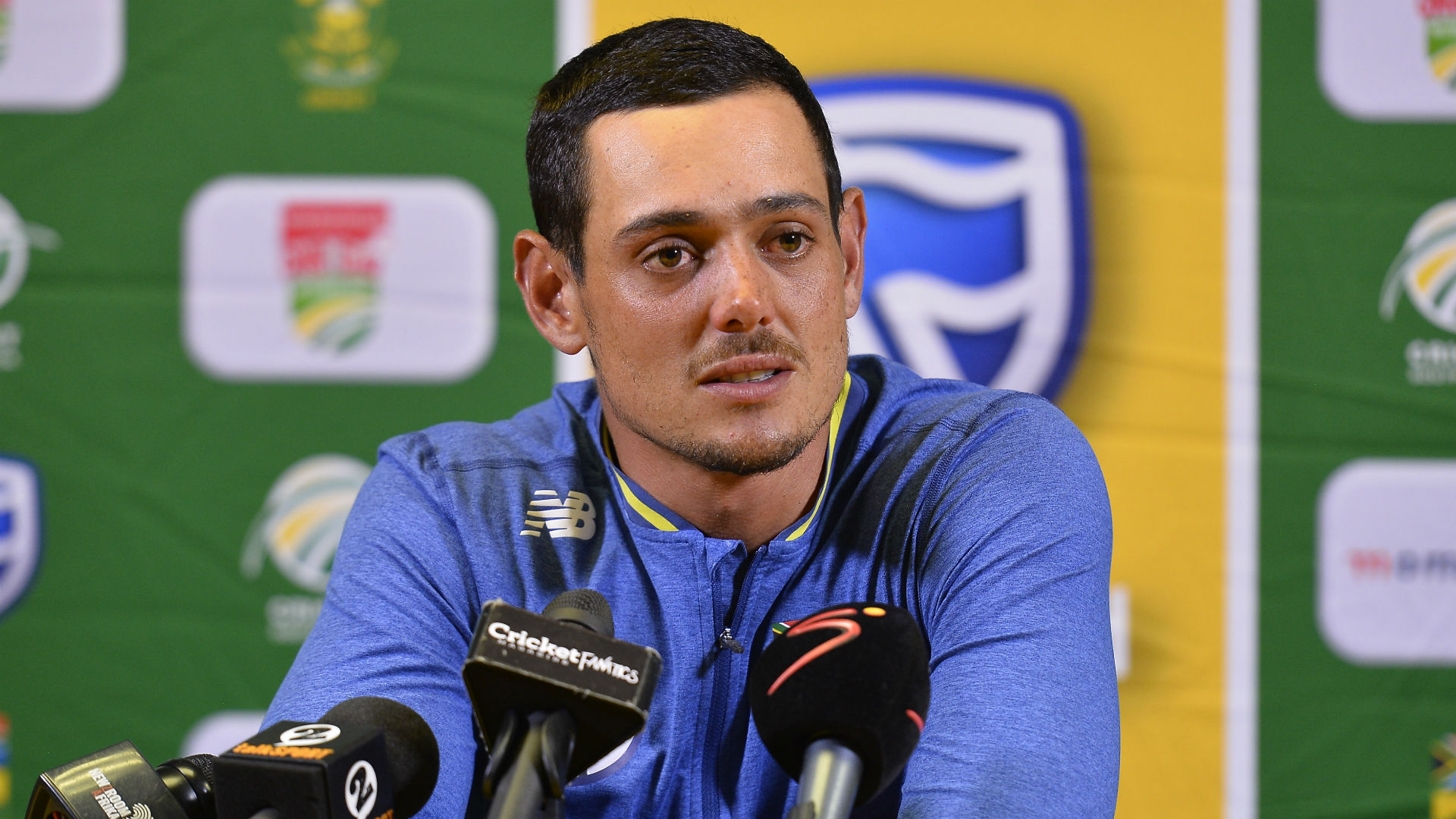 De Kock happy to be a triple threat for Proteas