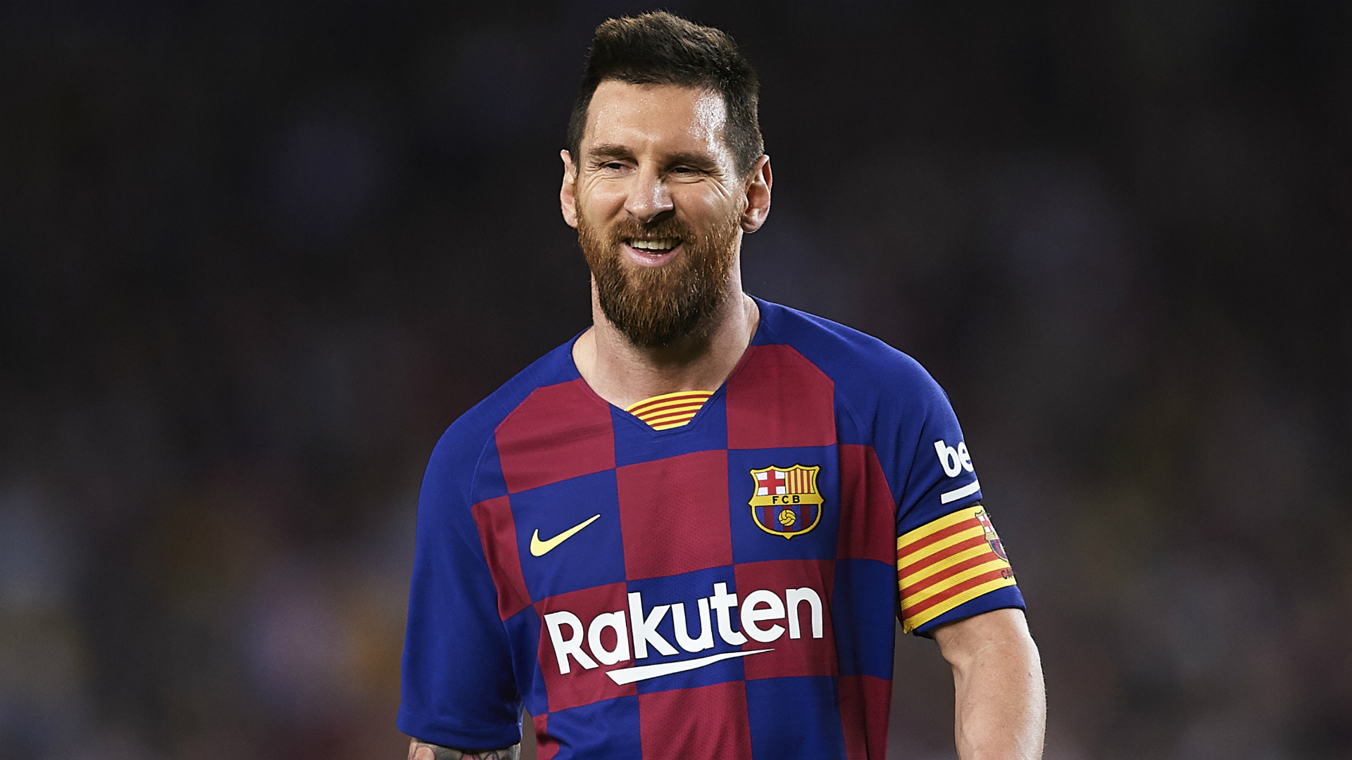 Setien says smiling Lionel Messi 'loves being at Barcelona' amid Abidal row