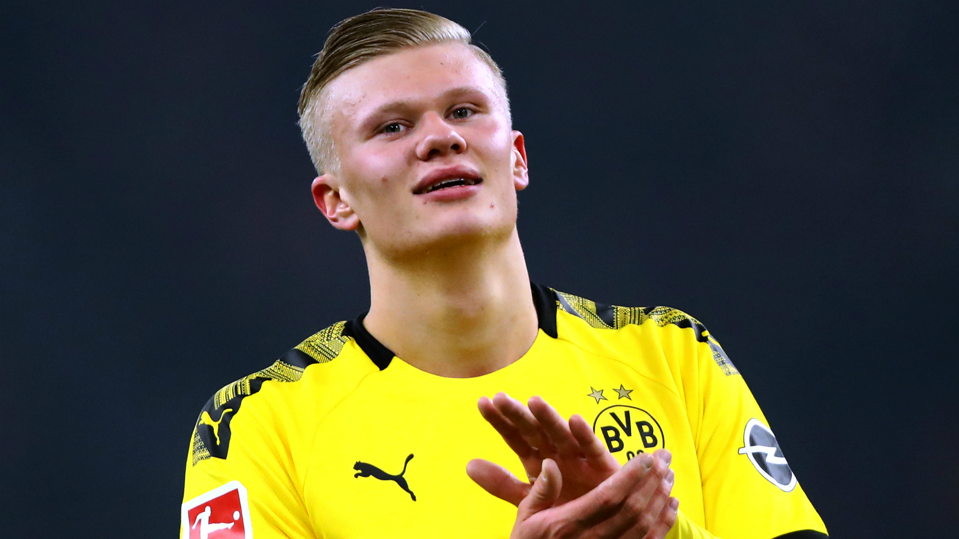 Dortmund boss Favre staying cautious with hotshot Haaland