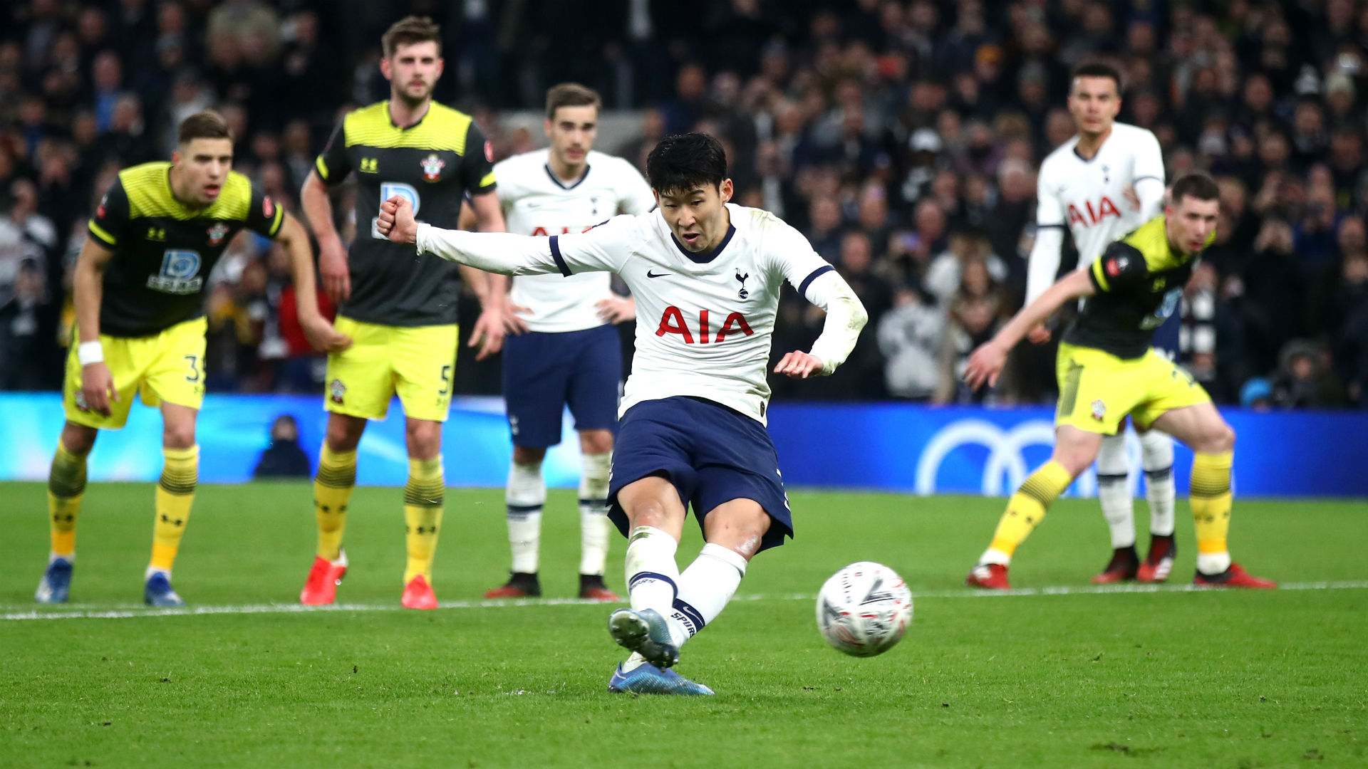 Tottenham 3-2 Southampton: Lucas and Son rescue Mourinho's men in FA Cup thriller
