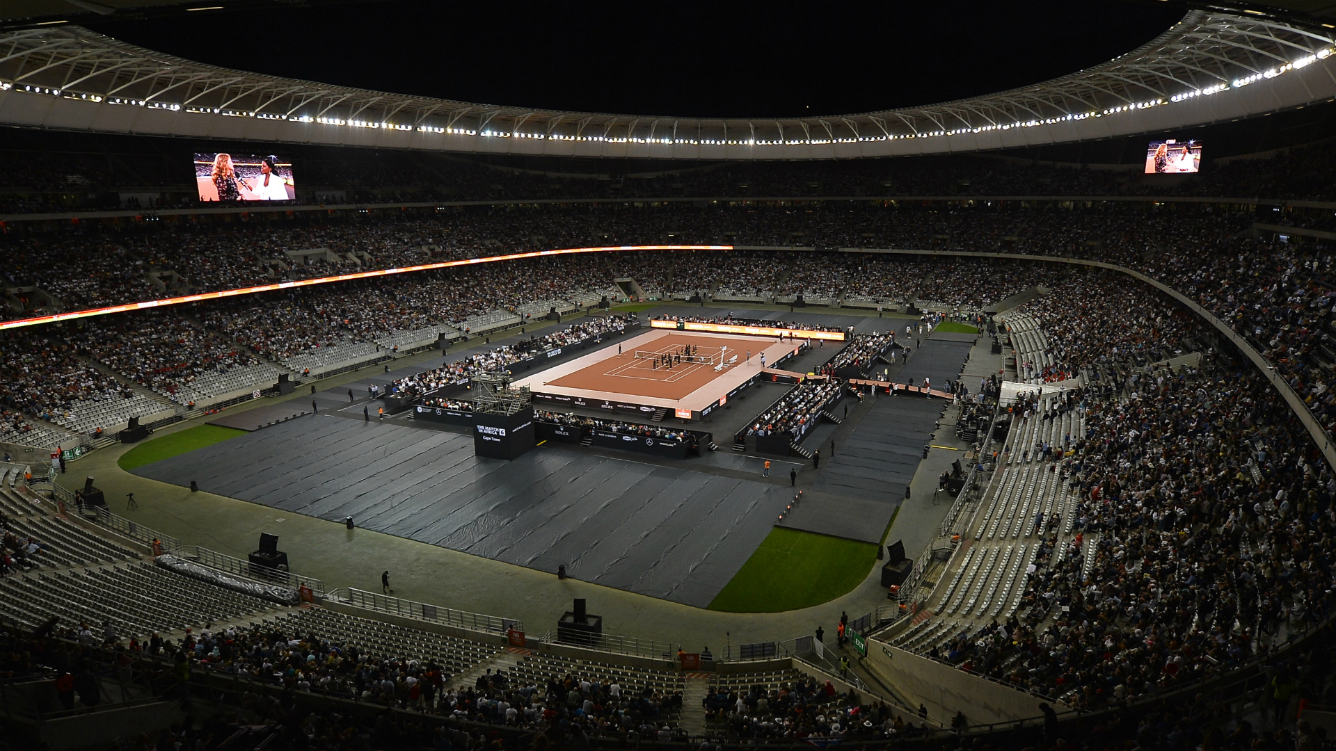 Federer v Nadal attracts record 51,954 fans for #MatchInAfrica