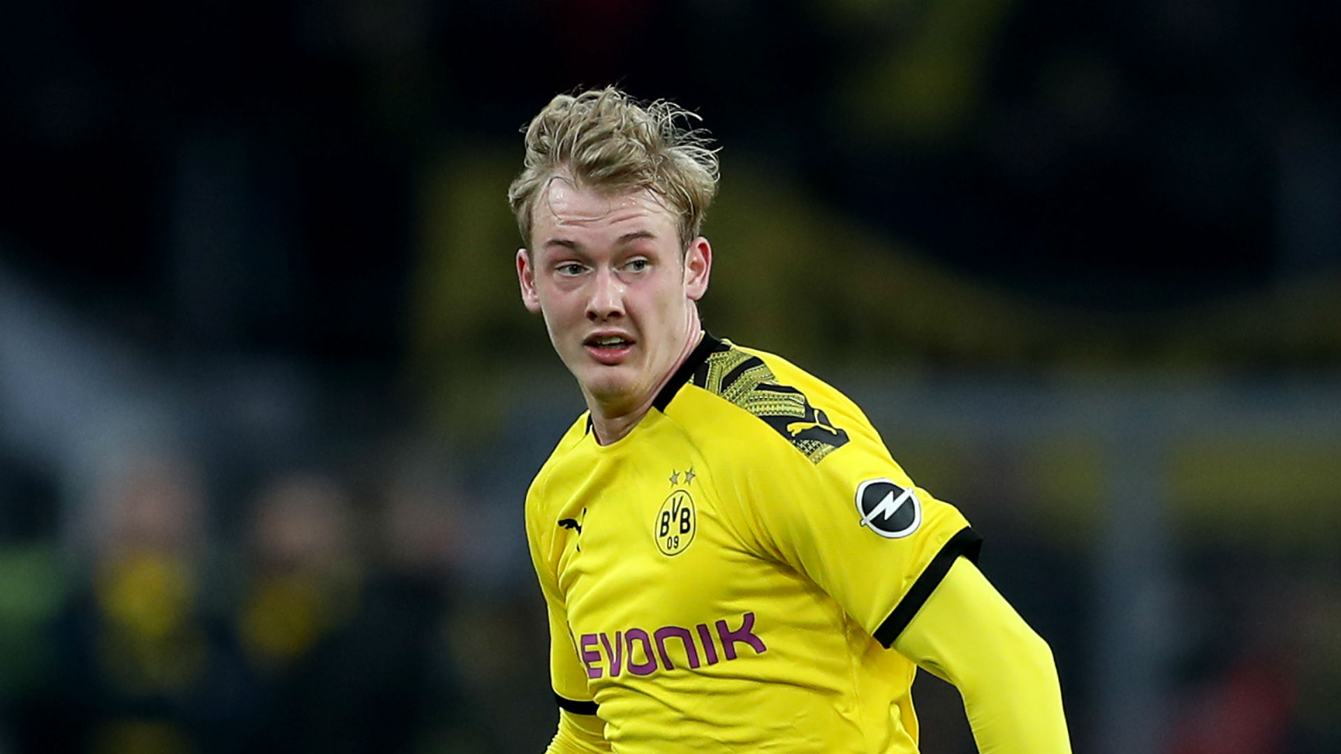 Dortmund's Brandt sprains ankle ahead of Champions League clash with PSG