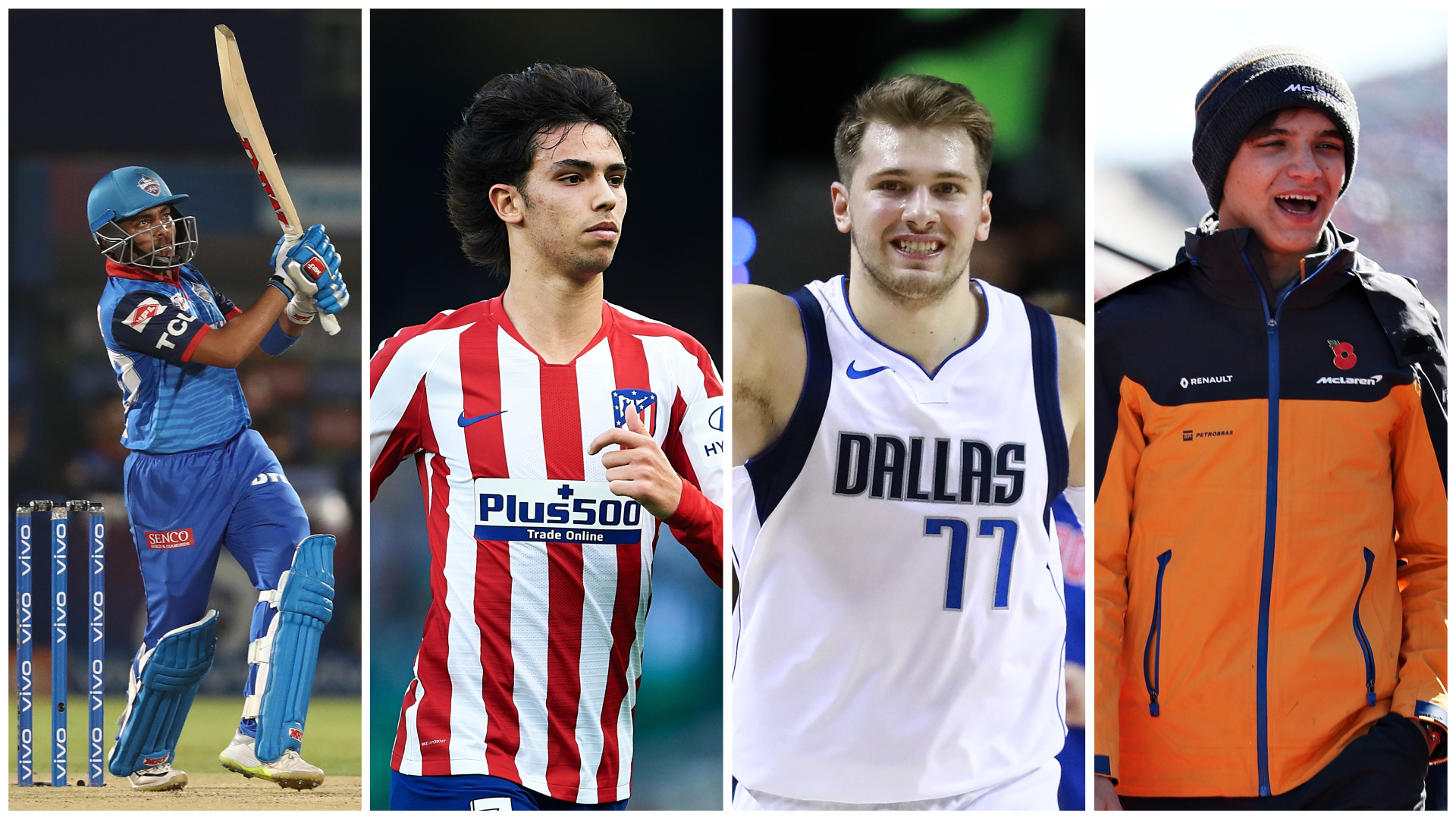 Joao Felix and Luka Doncic among 20 20-year-olds to shine in the 2020s