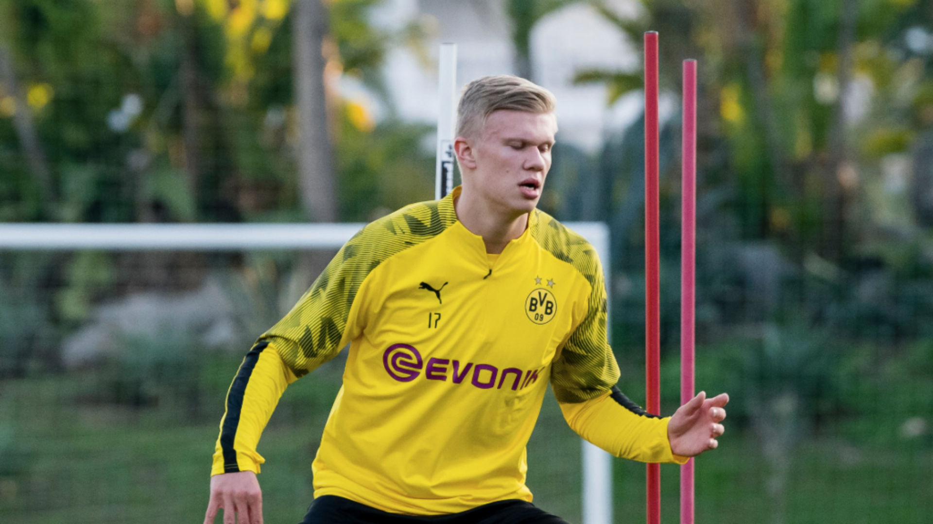Haaland not afraid of big-club pressure at Borussia Dortmund