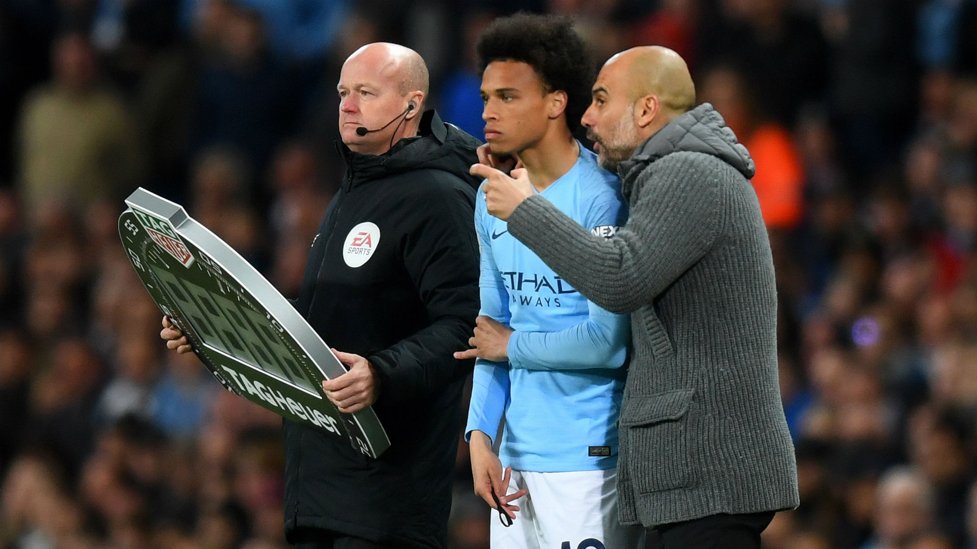 His future is not in my hands - Guardiola says Sane relationship not strained by Bayern speculation