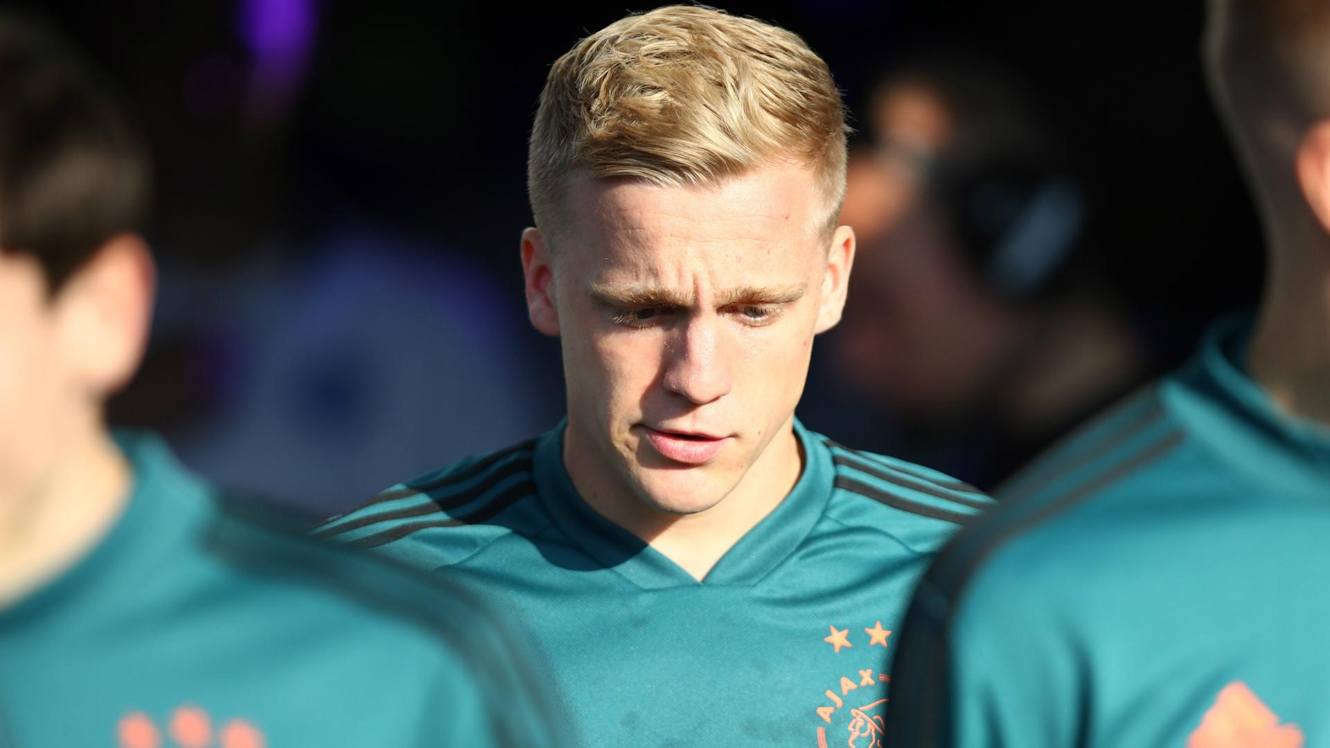 Man Utd & Madrid target Van de Beek rules out Ajax exit