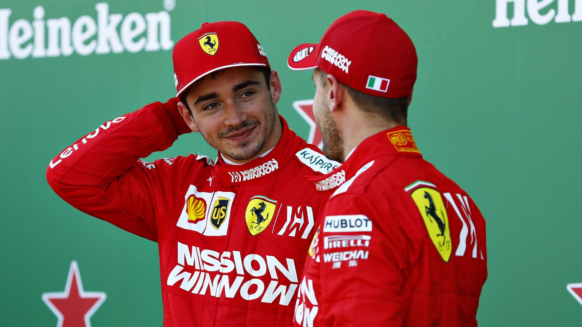 Ferrari star Leclerc vows no repeat of Vettel crash