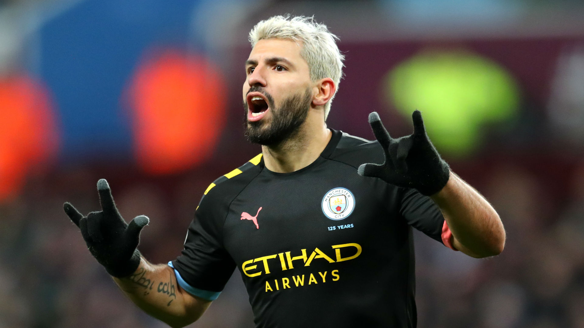 Aston Villa 1-6 Manchester City: Aguero sets two records on Drinkwater's disastrous debut