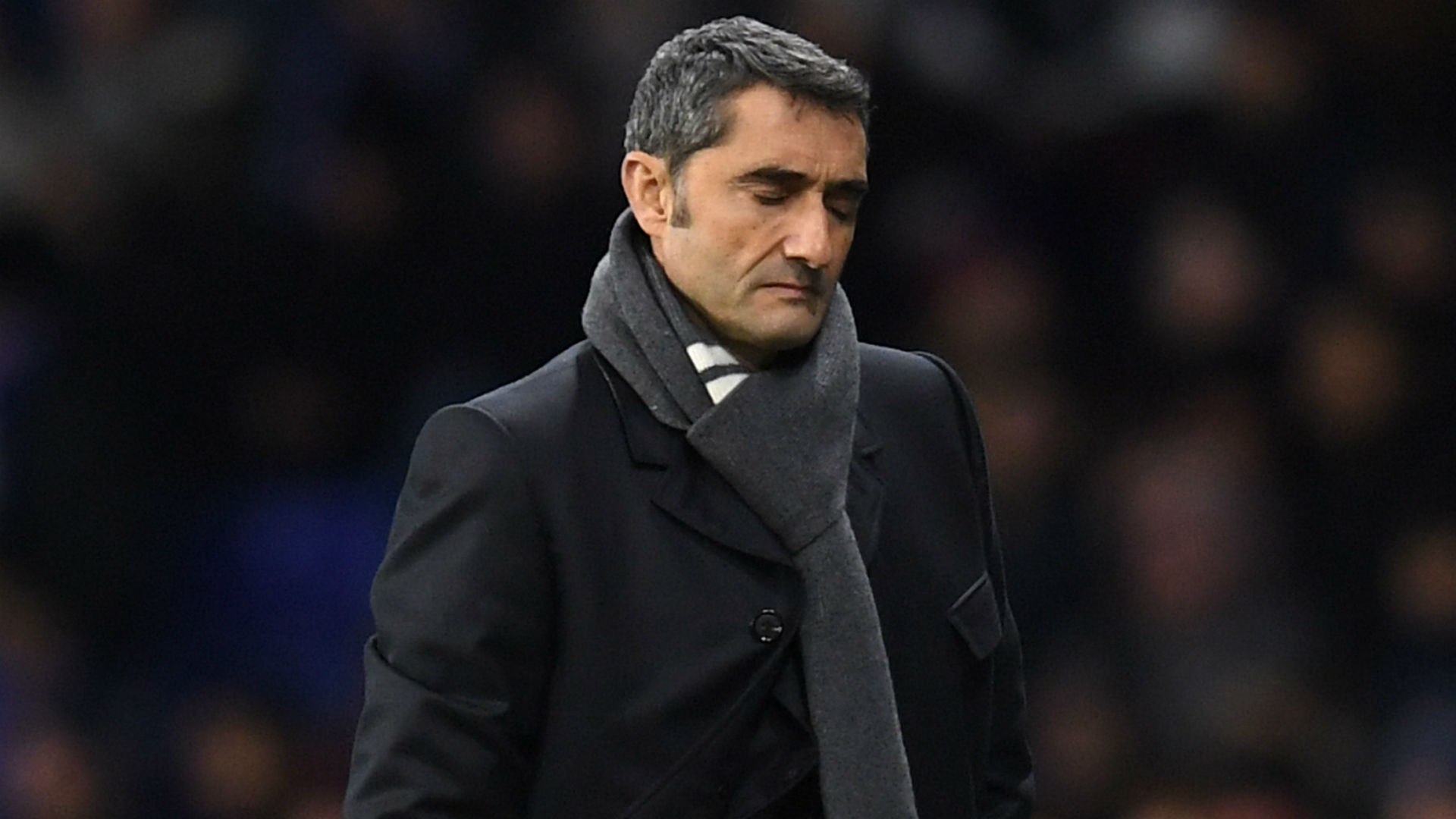 Valverde takes Barcelona training ahead of meeting with board