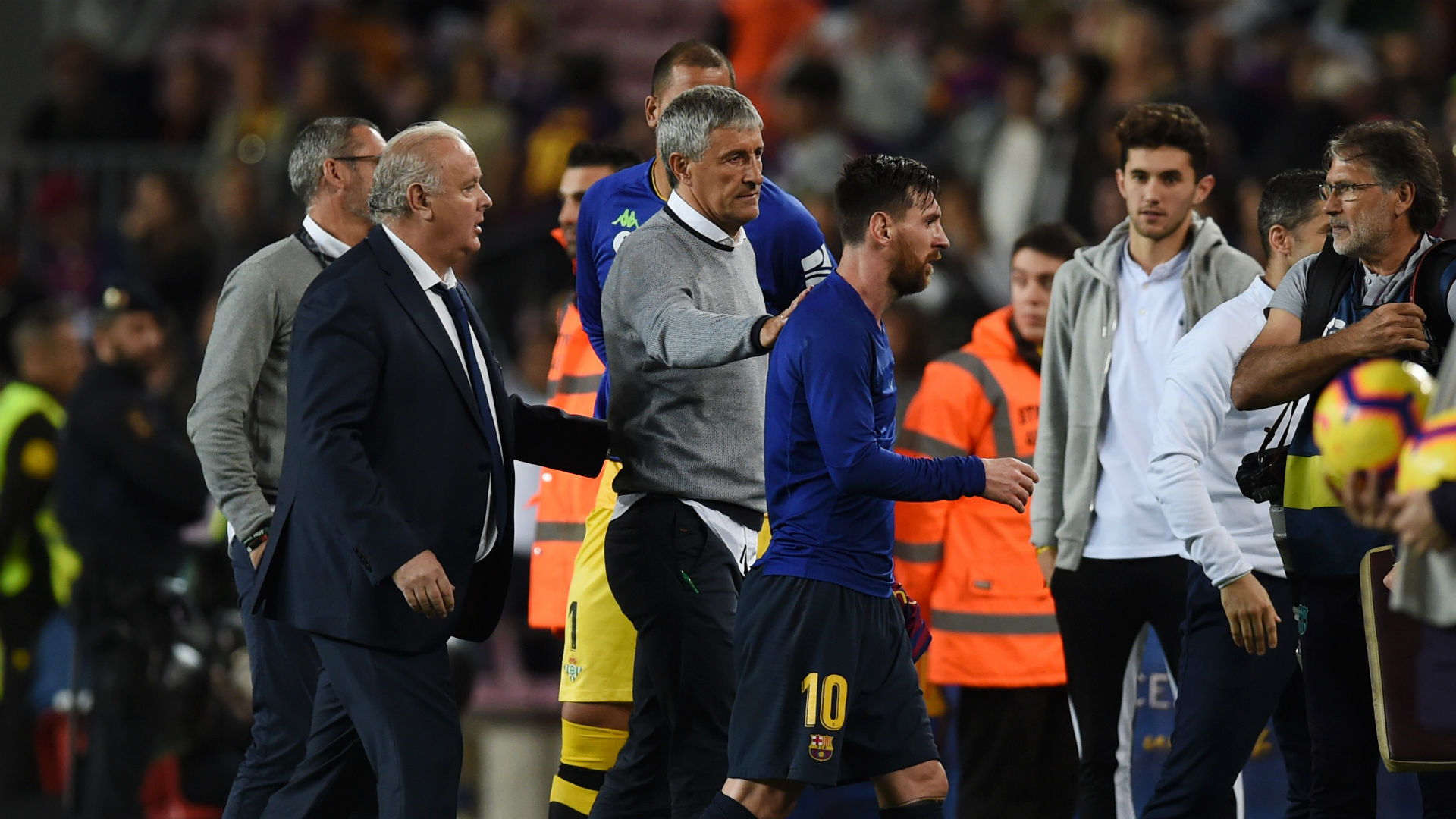 Setien promises to be direct with Messi and Barcelona's other stars
