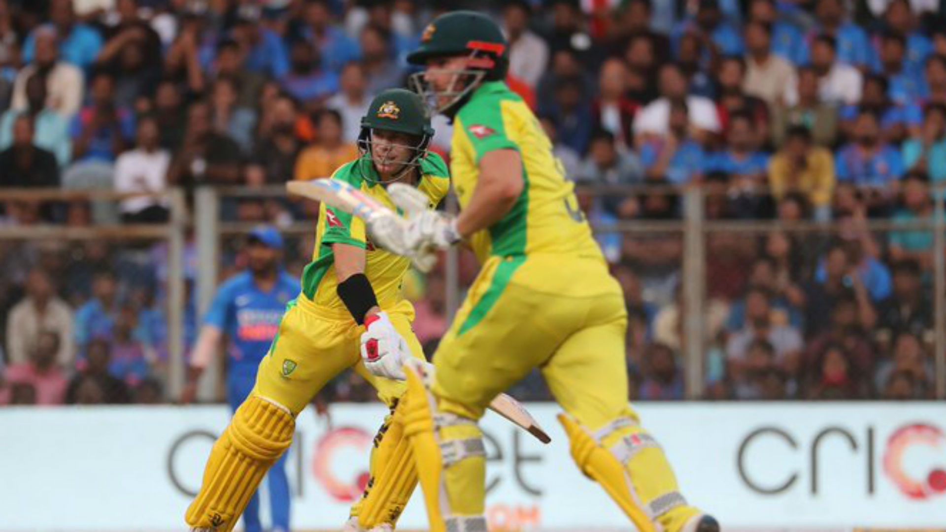 Finch and Warner pummel India to seal 10-wicket thrashing