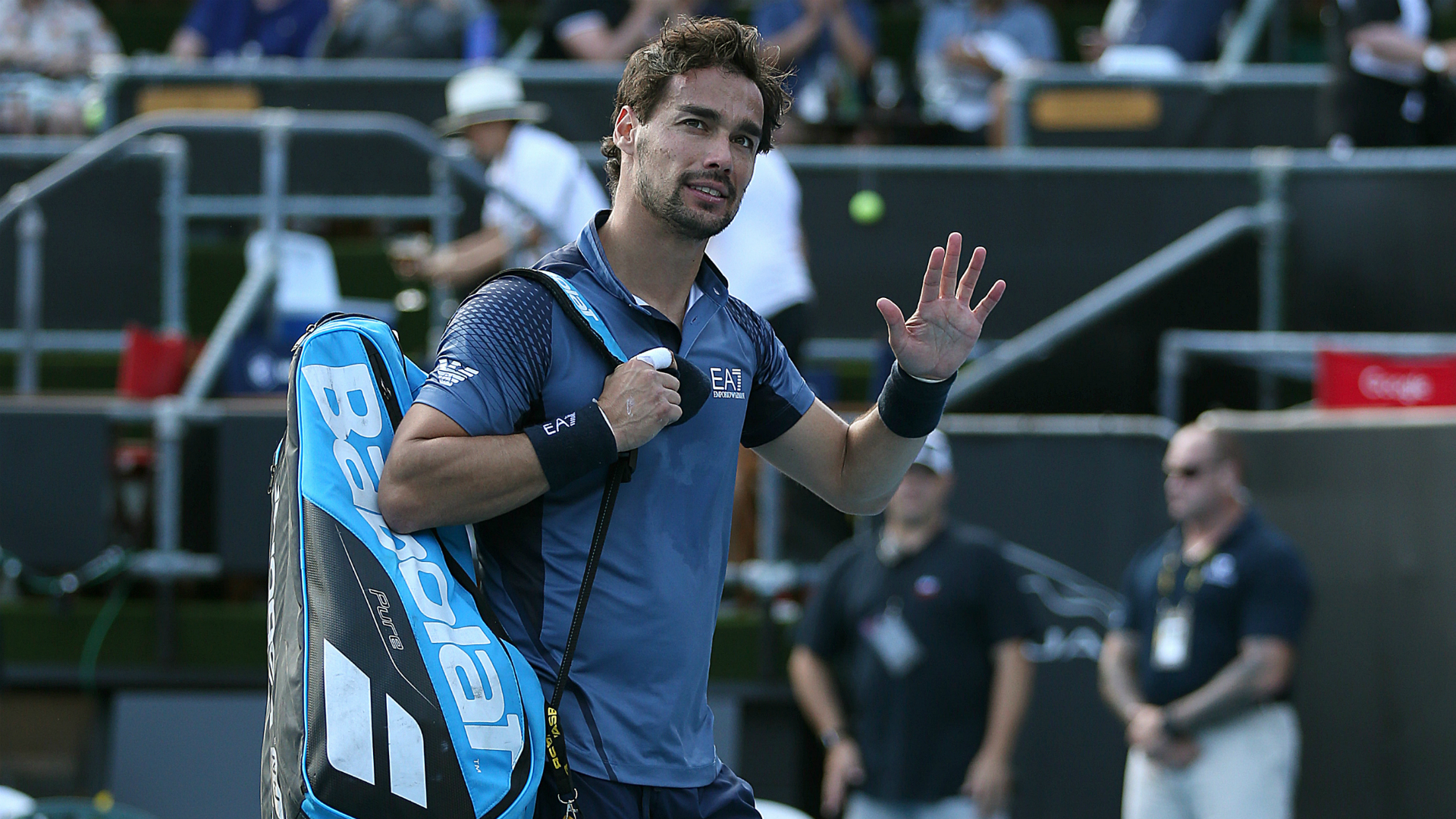 Fognini and Khachanov fall in Auckland, Auger-Aliassime through in Adelaide