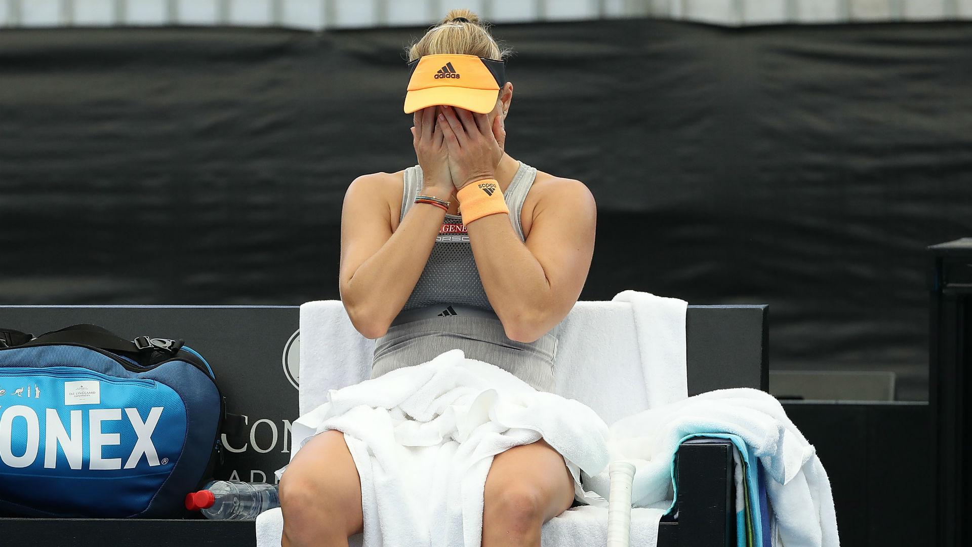 Kerber suffers pre-Australian Open injury scare, Vondrousova eyes Barty revenge