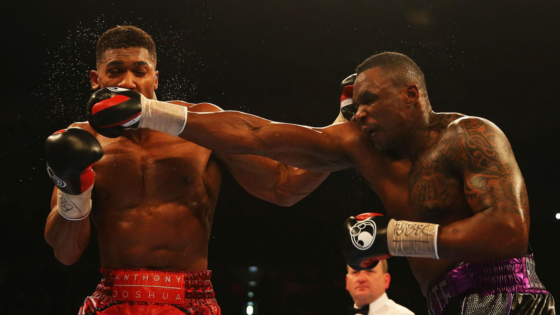 Anthony Joshua talks rubbish - Dillian Whyte slams rival for Tyson Fury sparring saga