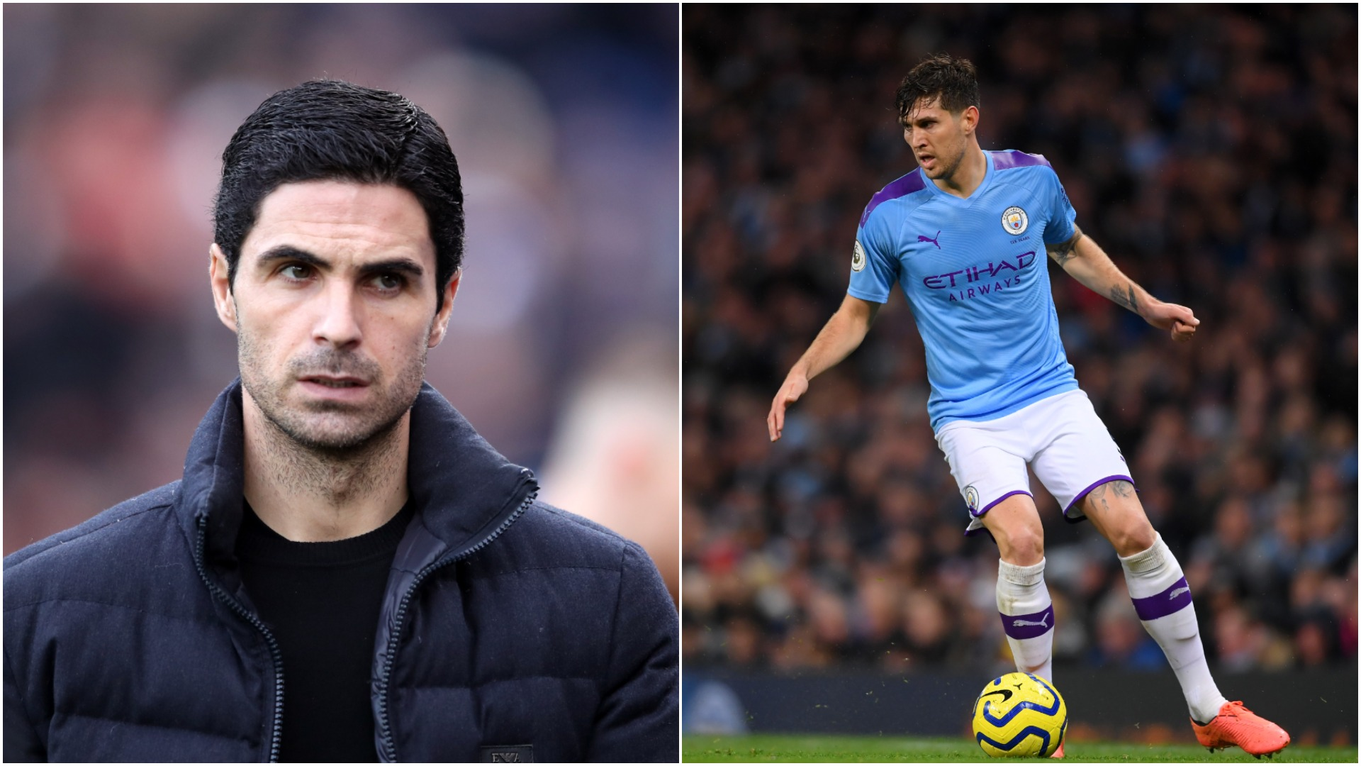 'No truth' in Stones to Arsenal rumours, claims Arteta