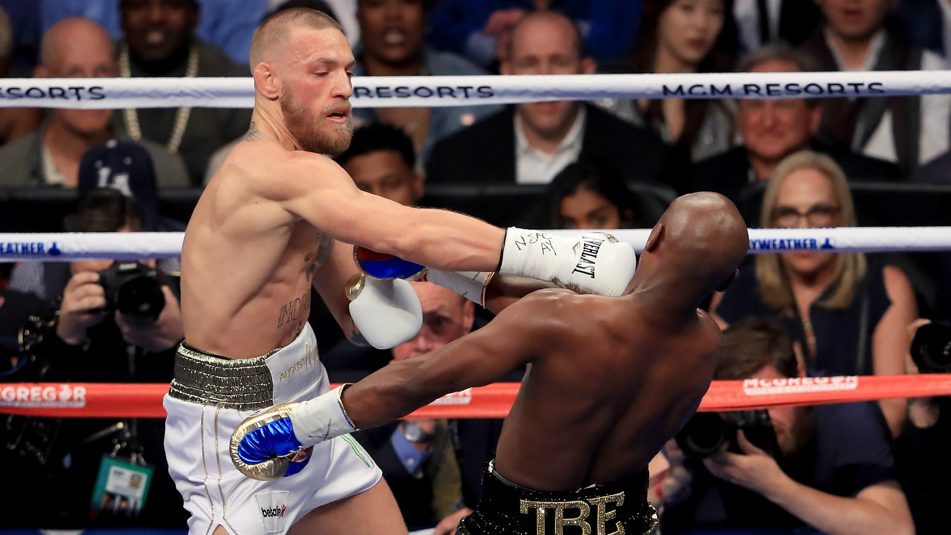 McGregor says talks with Pacquiao are 'ongoing' as Irishman eyes boxing world-title tilt