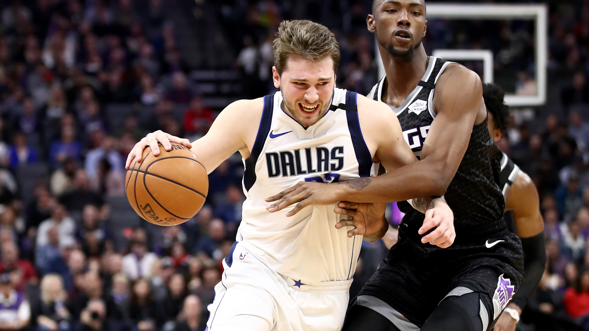 Doncic makes NBA history with triple-double