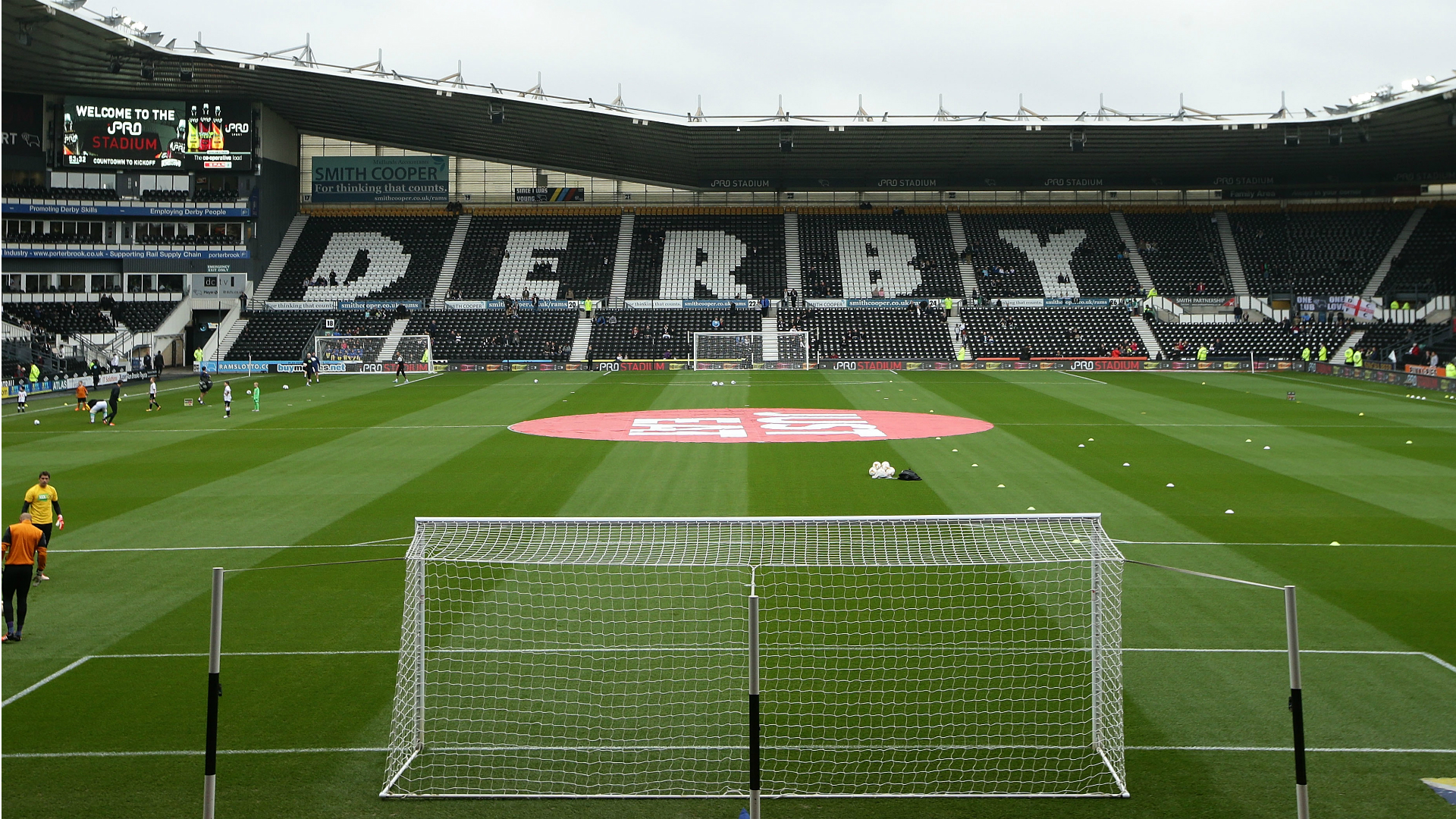 Derby charged with spending breach by EFL