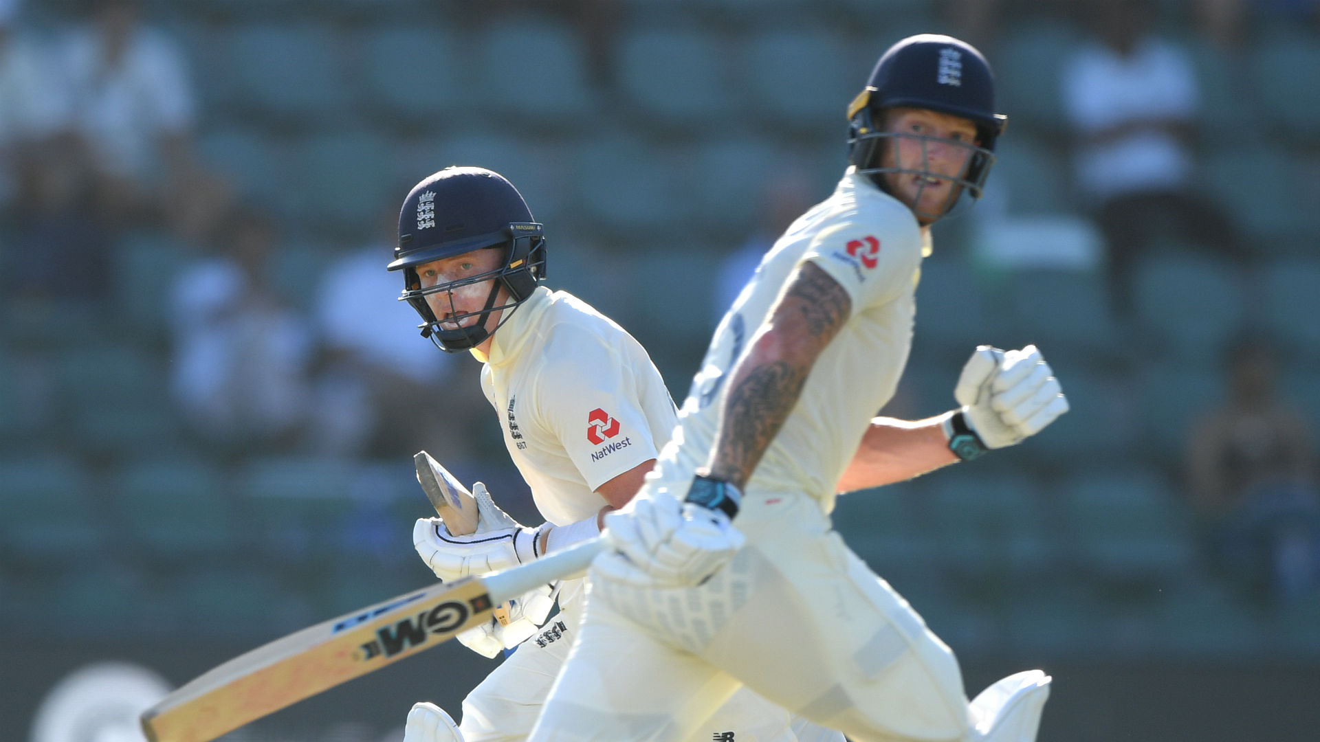 Stokes and Pope hold out after slow progress for England