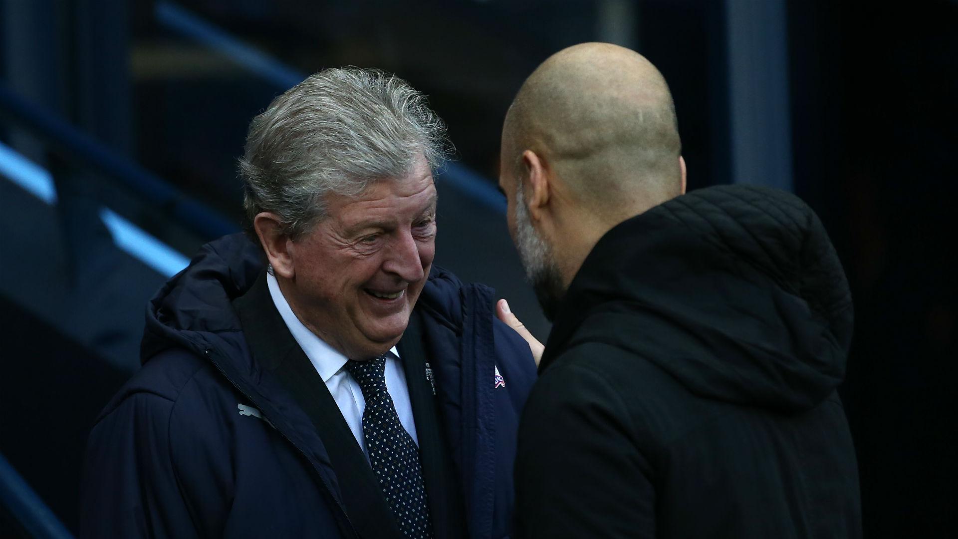 Hodgson must be bored at home - Guardiola marvels at Palace boss