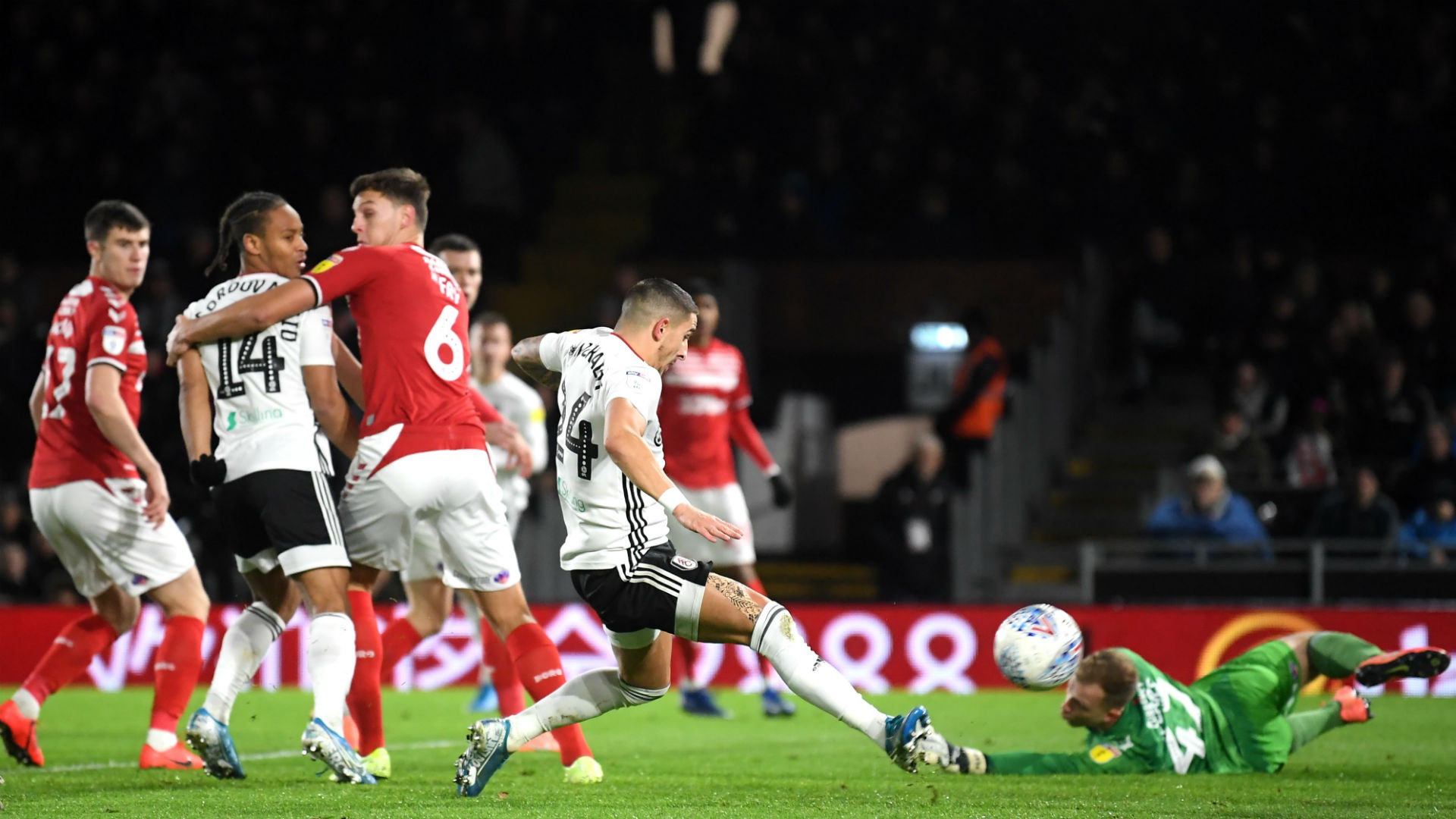 Fulham 1-0 Middlesbrough: Early Knockaert effort lifts Cottagers