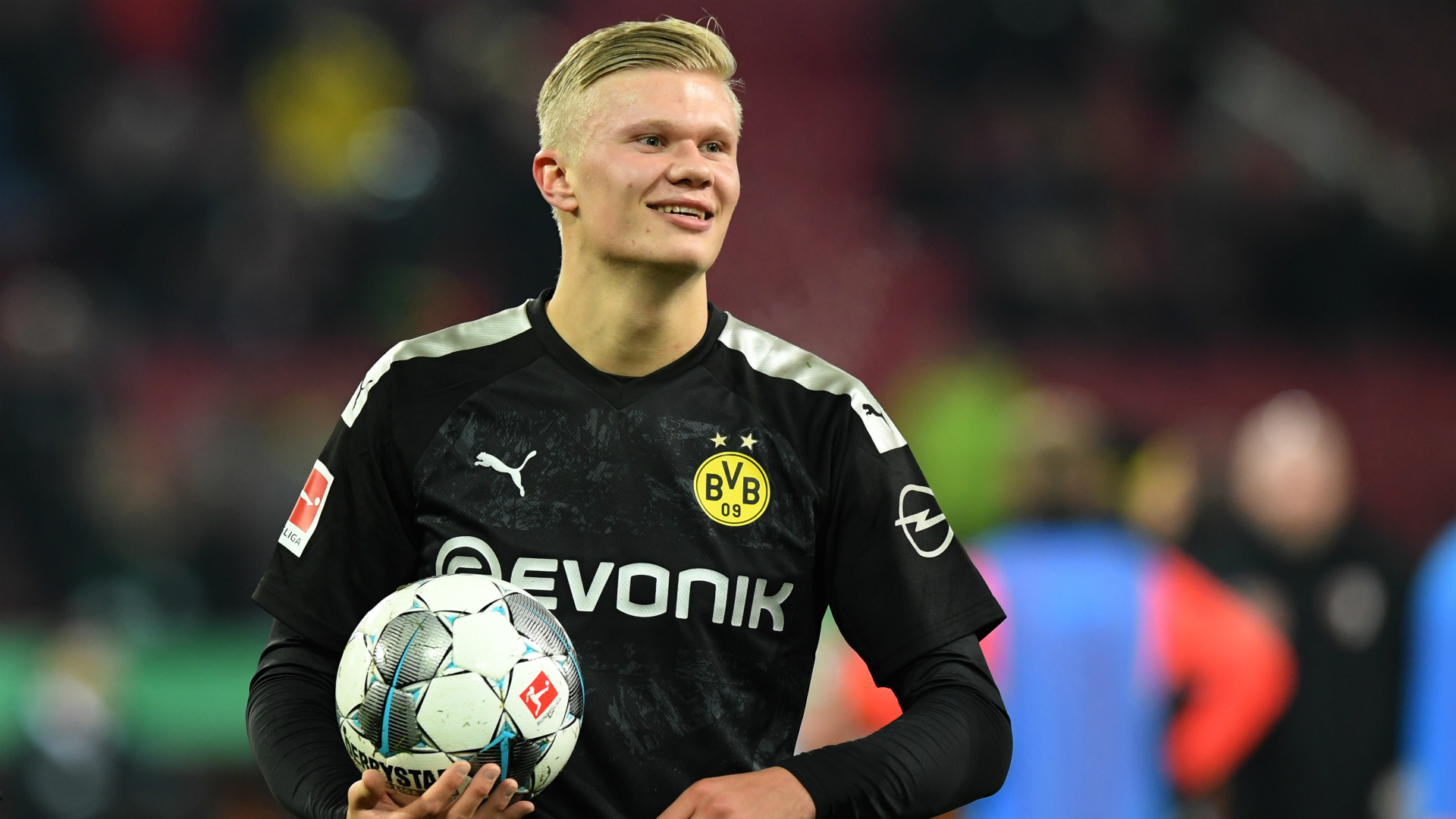 Erling Haaland debut labelled 'incredible' by Borussia Dortmund boss Lucien Favre
