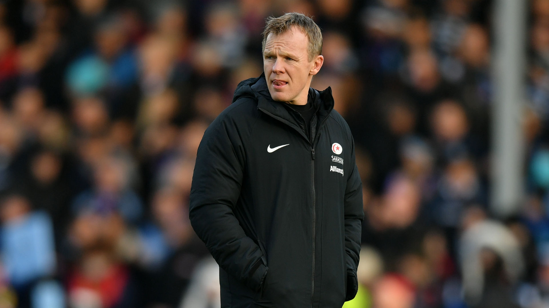 Saracens boss McCall eager to stay, but acknowledges future of England stars uncertain