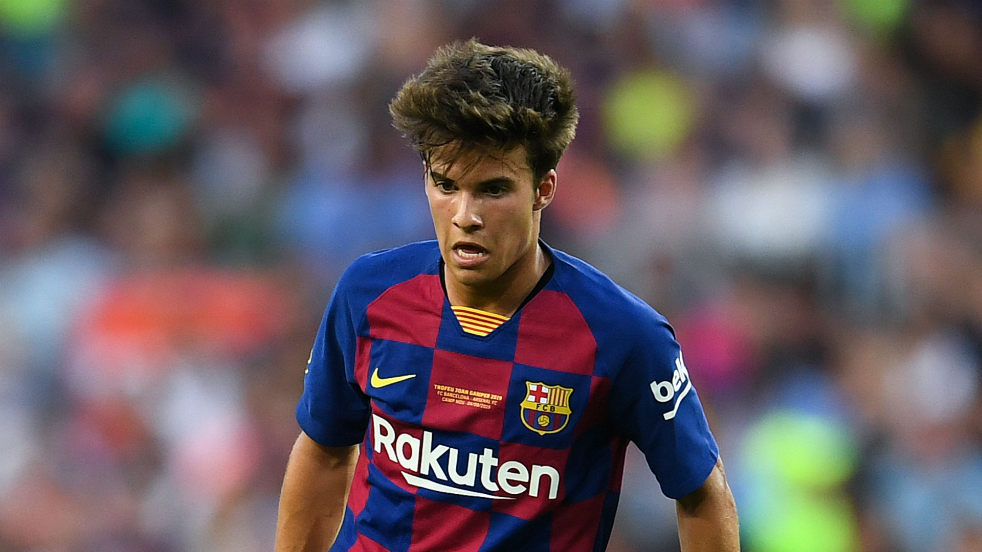Riqui Puig named in Quique Setien's first Barcelona squad