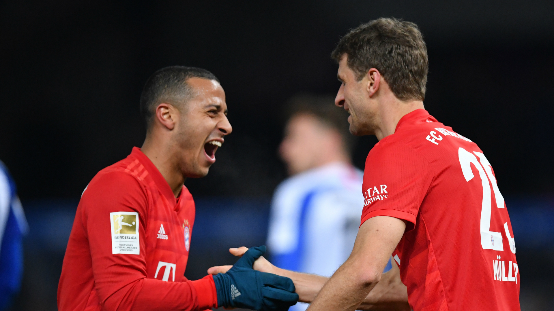 Hertha Berlin 0-4 Bayern Munich: Second-half show sends Flick's men up to second