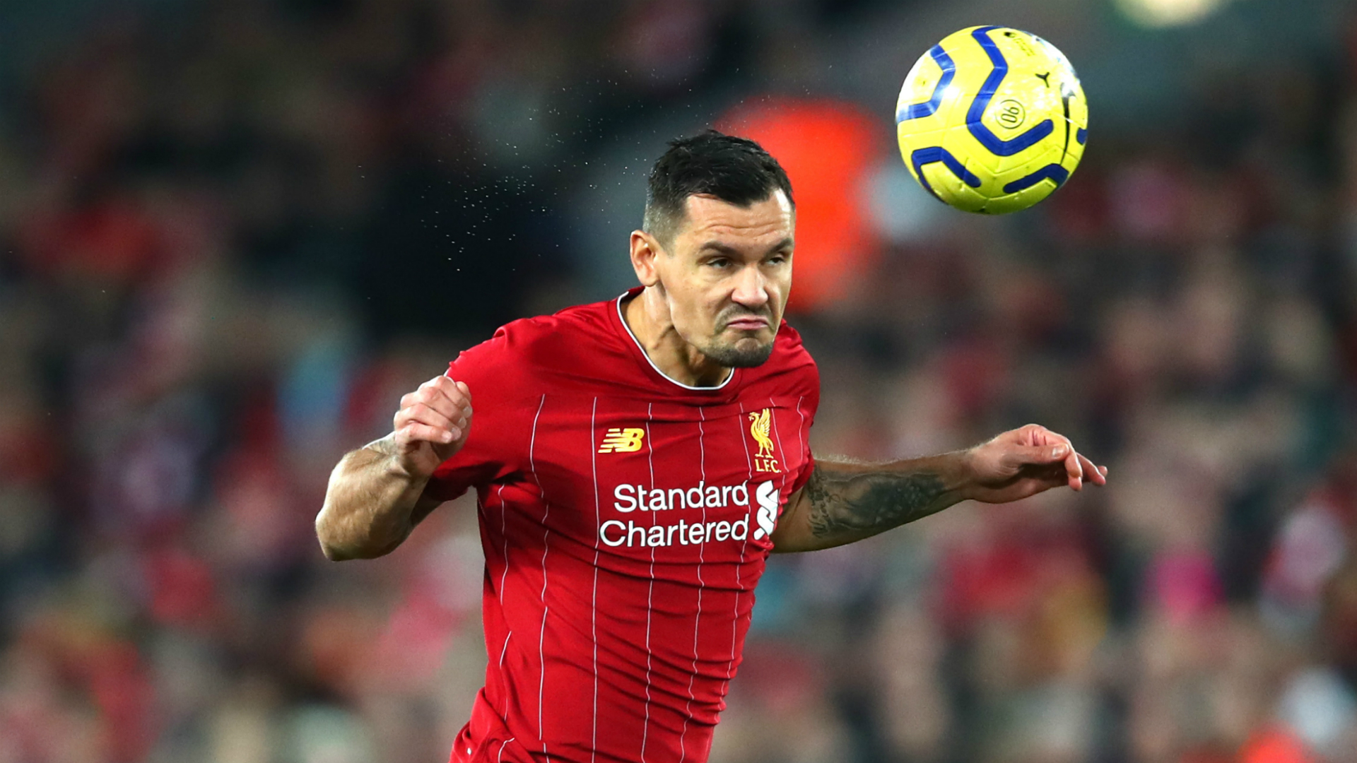 Lovren lifts leaders Liverpool as defender returns to training